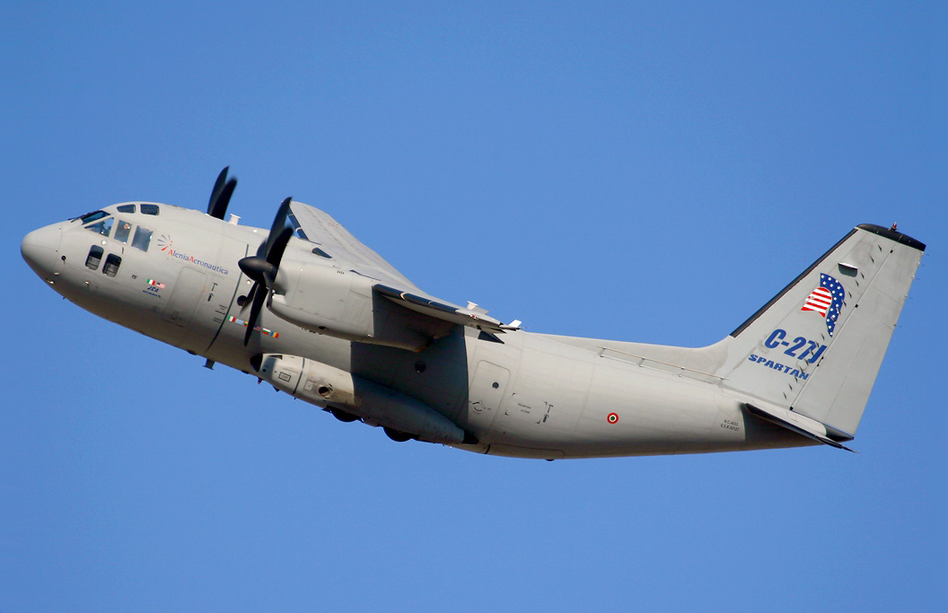 Alenia C-27J Spartan - Wikipedia