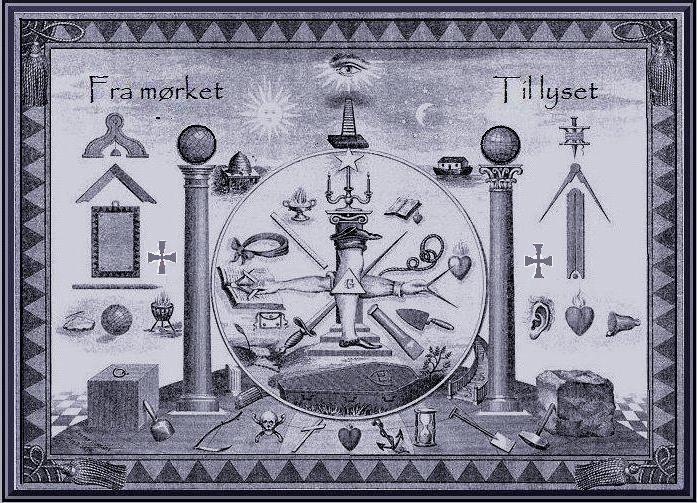 Alle frimurer symboler