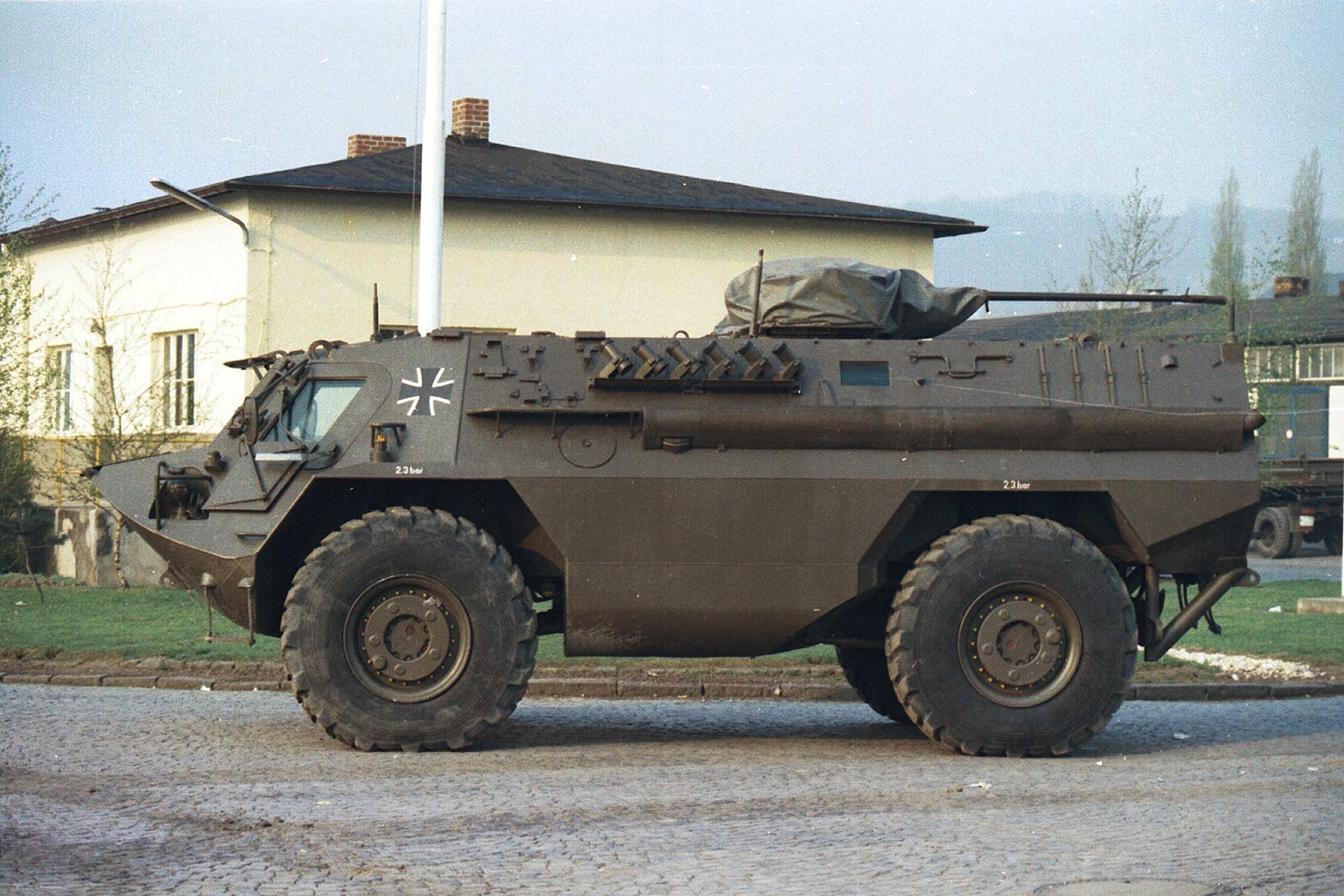 Mercedes Fast Attack Vehicle For Sale