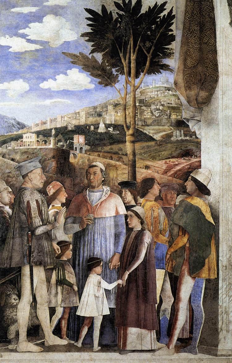 File andrea mantegna the meeting for Camera dei