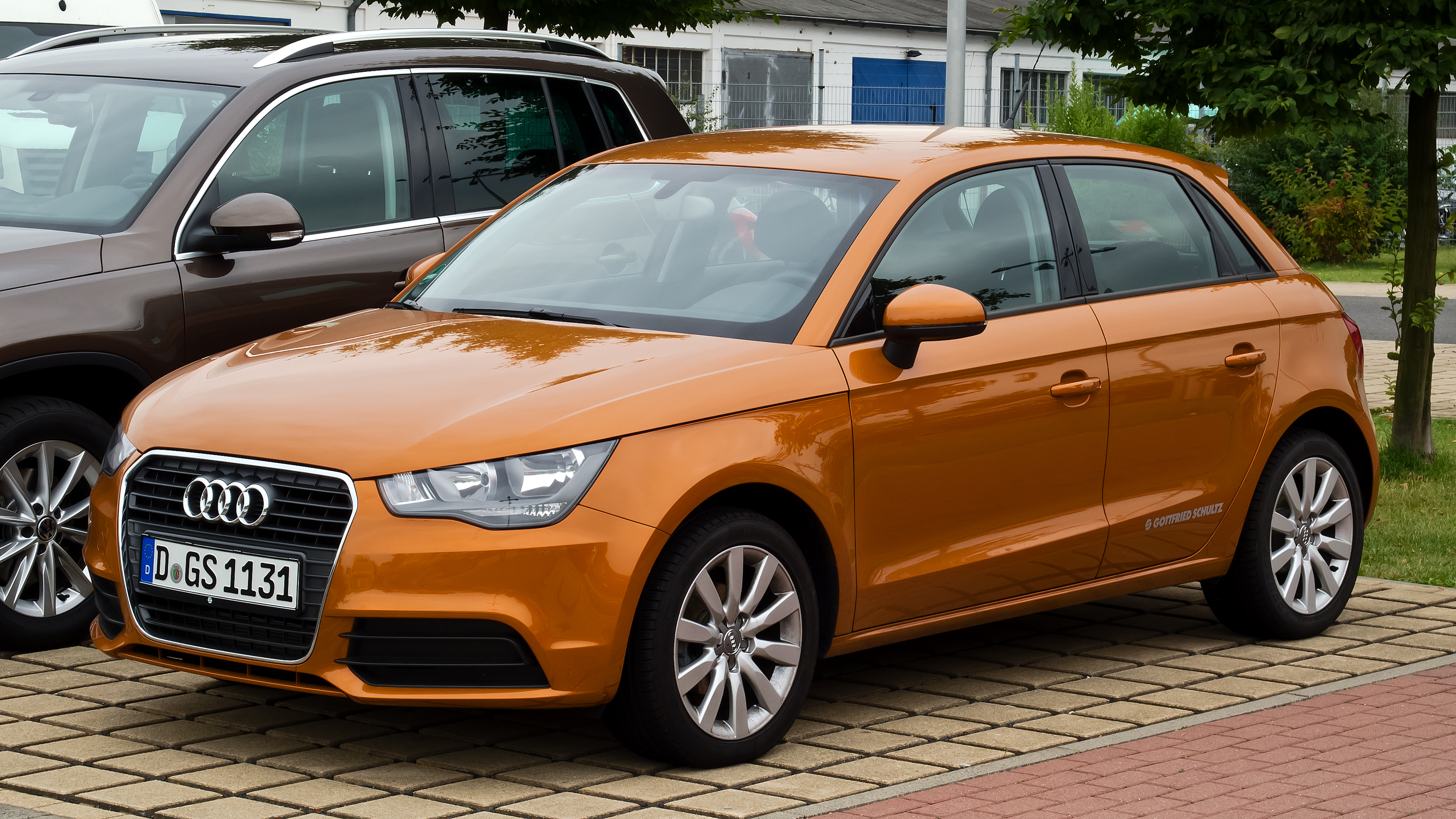 File Audi A1 Sportback Attraction Frontansicht 3
