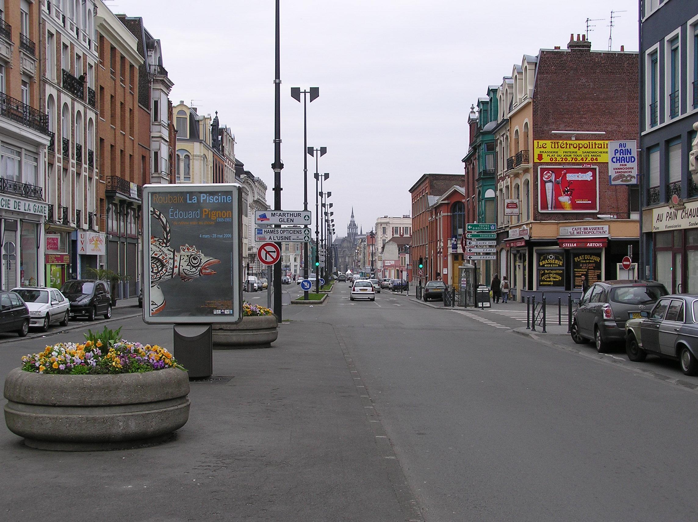rue de l u0026 39 alma roubaix
