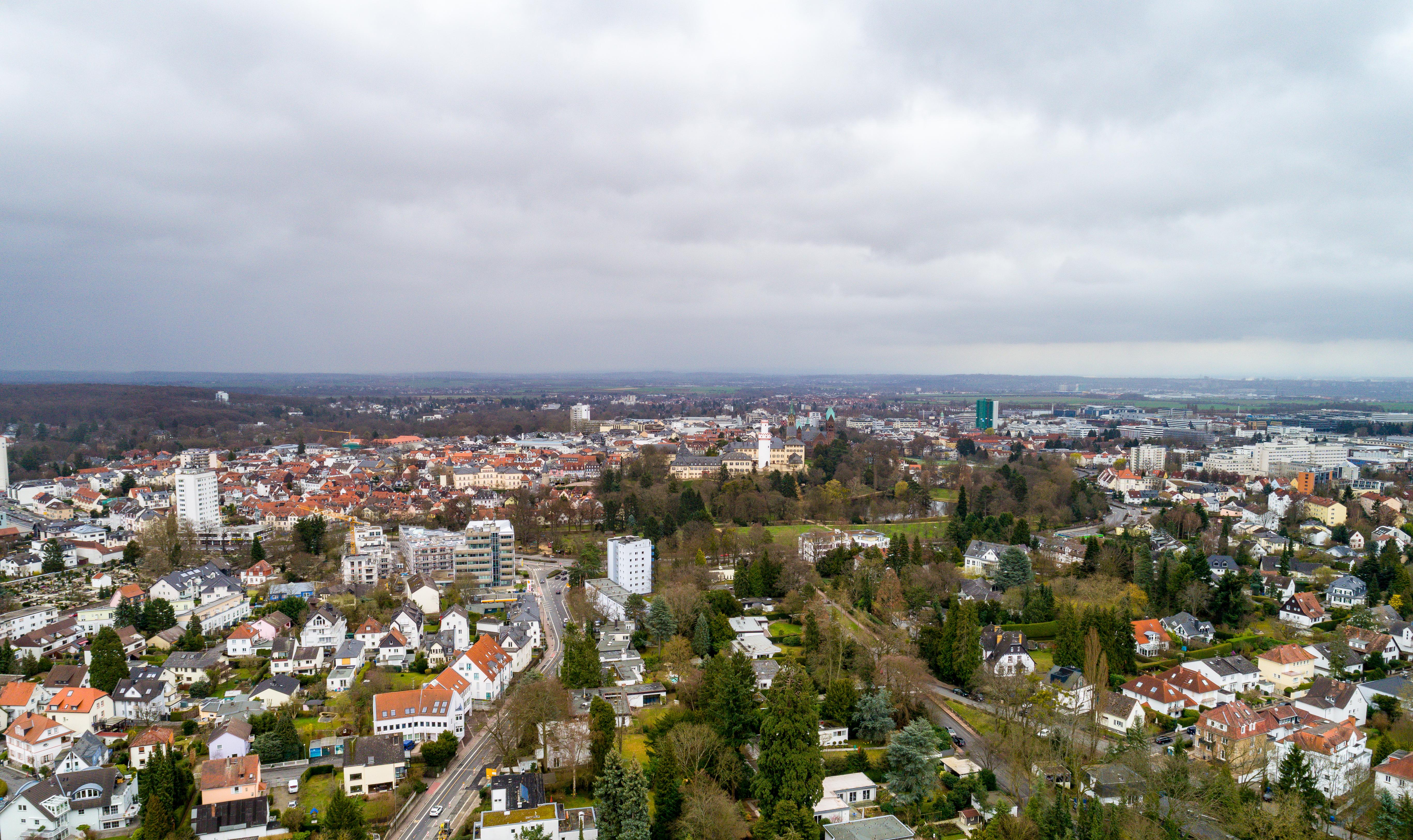 Homburg vor der Höhe Bad Homburg Skulpturenallee Schloß Bad Homburg Merian 0031