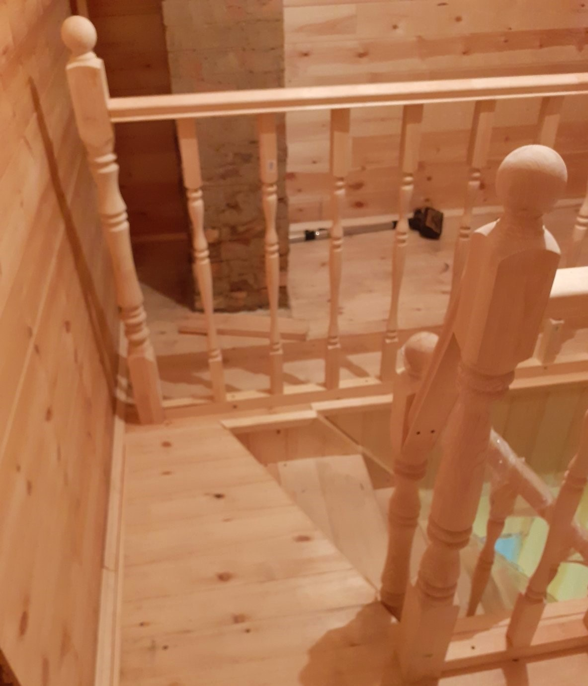 File Balusters On The Attic Stairs Of A Private House Jpg Wikipedia