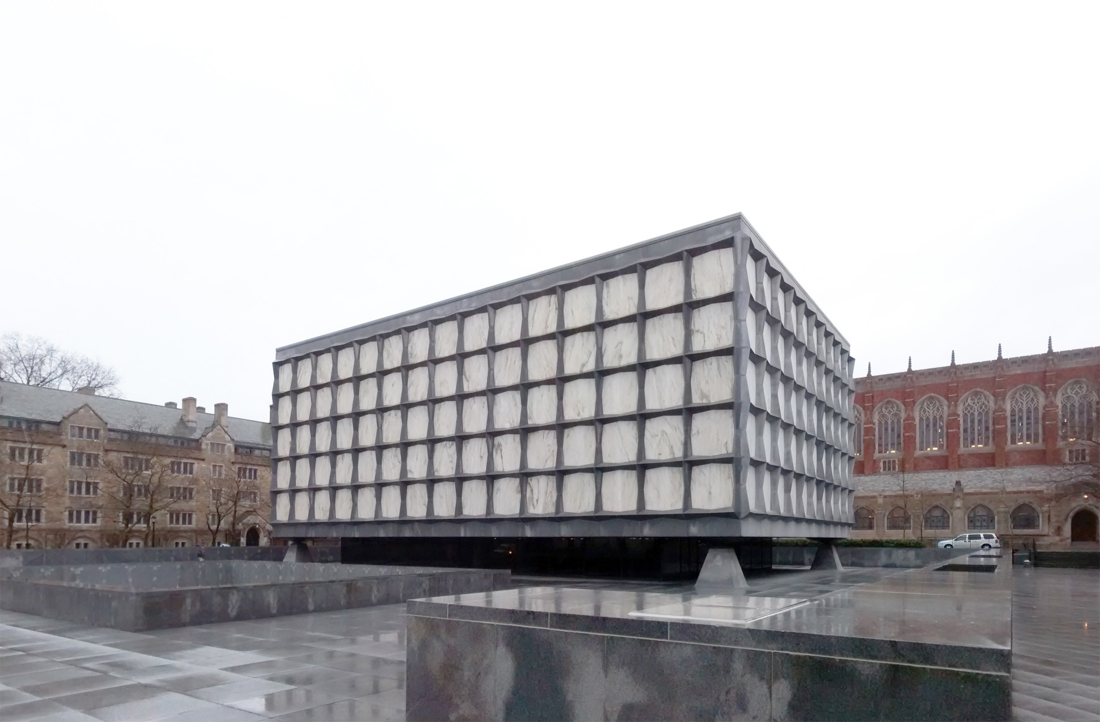 Beinecke Rare Book Manuscript Library Yale University Hewitt Quadrangle New Haven Connecticut Apr 2014