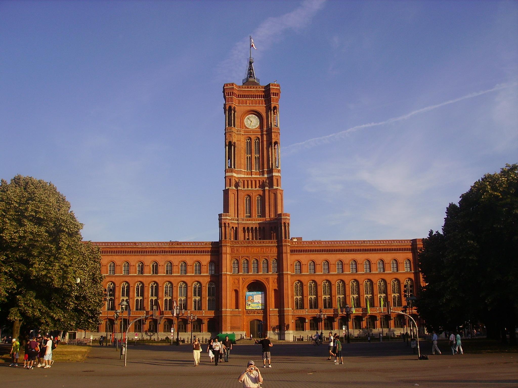 Rotes Rathaus in Mitte, Sitz des Berliner Senats