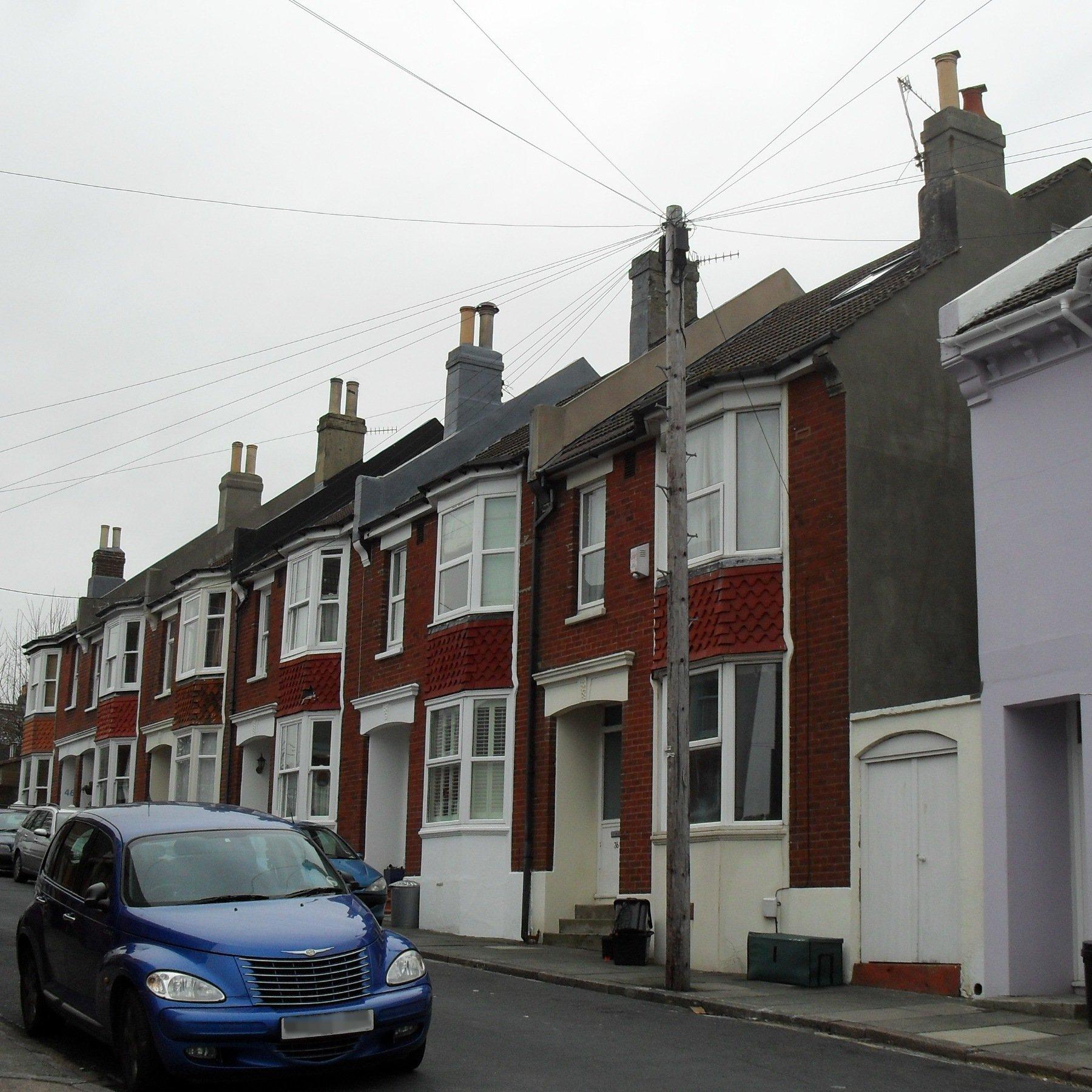 File:Brick Houses at Belton Road, Round Hill, Brighton JPG