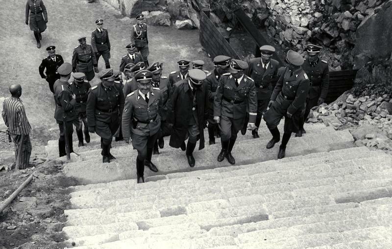 Bundesarchiv Bild 192-017, KZ Mauthausen, Besuch Heinrich Himmler