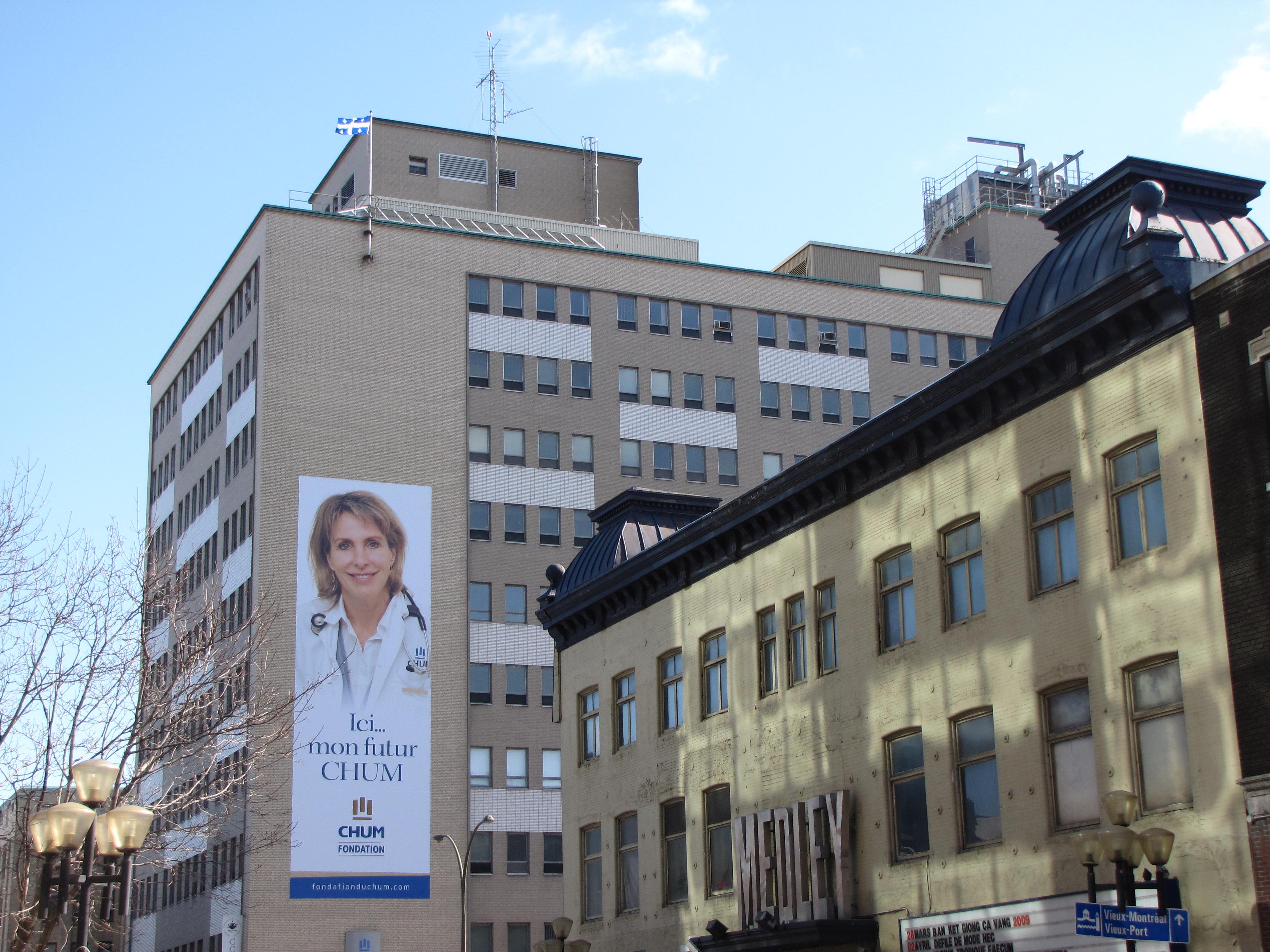 File:C.H.U.M. HÔPITAL ST-LUC ^ LE MEDLEY (rue St-Denis ...