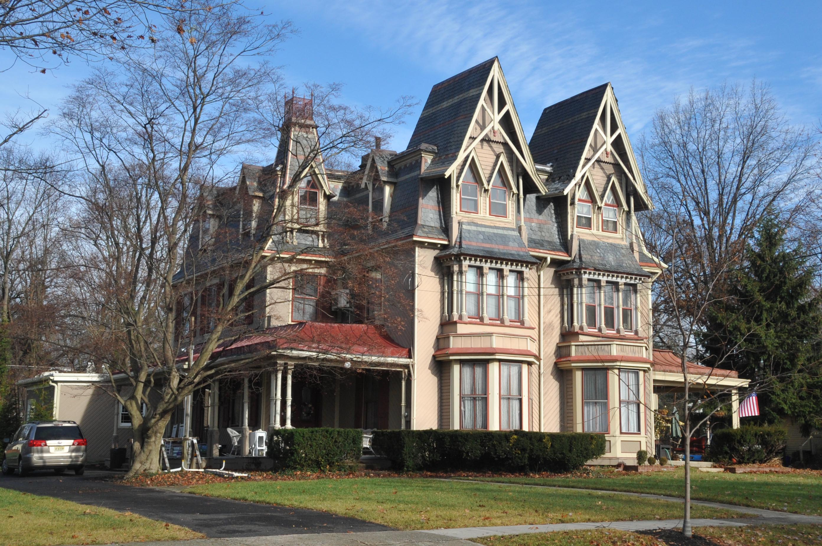 wonderful building a house in nj #7: File:CENTENNIAL HOUSE, MERCHANTVILLE, CAMDEN COUNTY, NJ.jpg