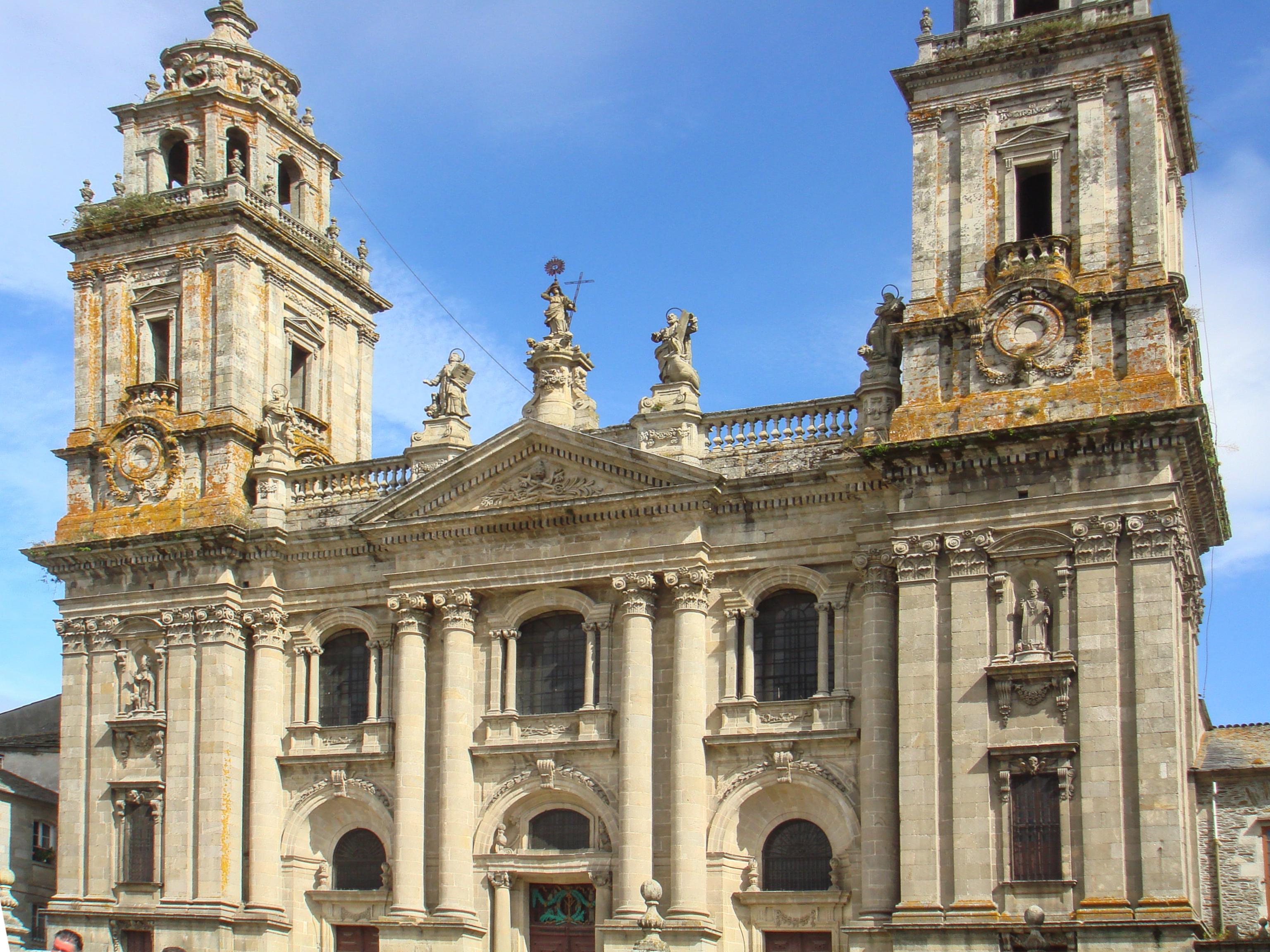 Archivo:Catedral de Lugo, Galicia (Spain).jpg - Wikipedia, la ...