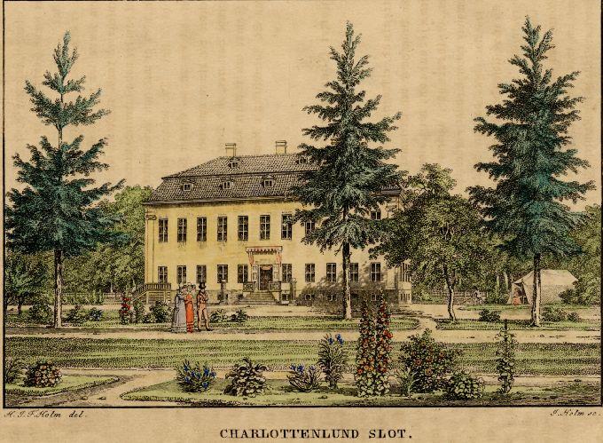 File Charlottenlund Slot C 1830 Jpg Wikimedia Commons