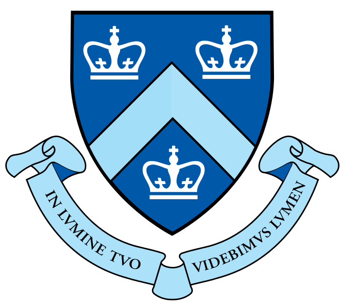 Logo of Columbia University