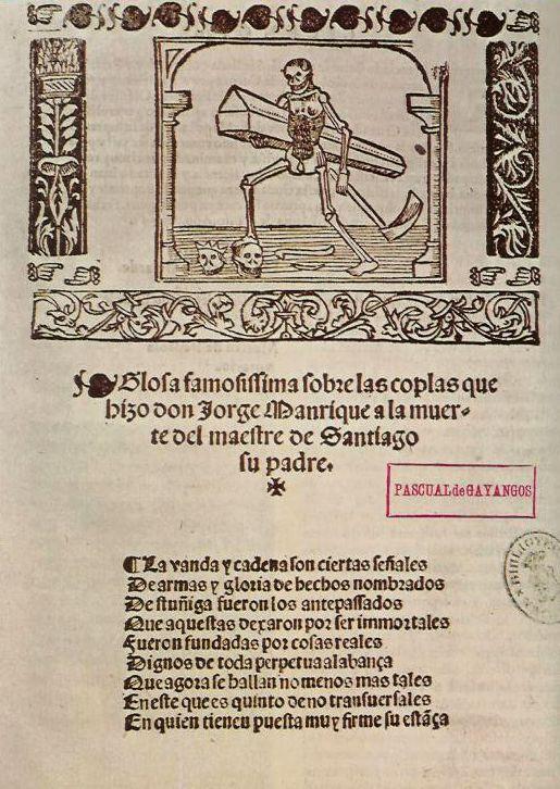 Coplas Por La Muerte De Su Padre Wikipedia La Enciclopedia Libre