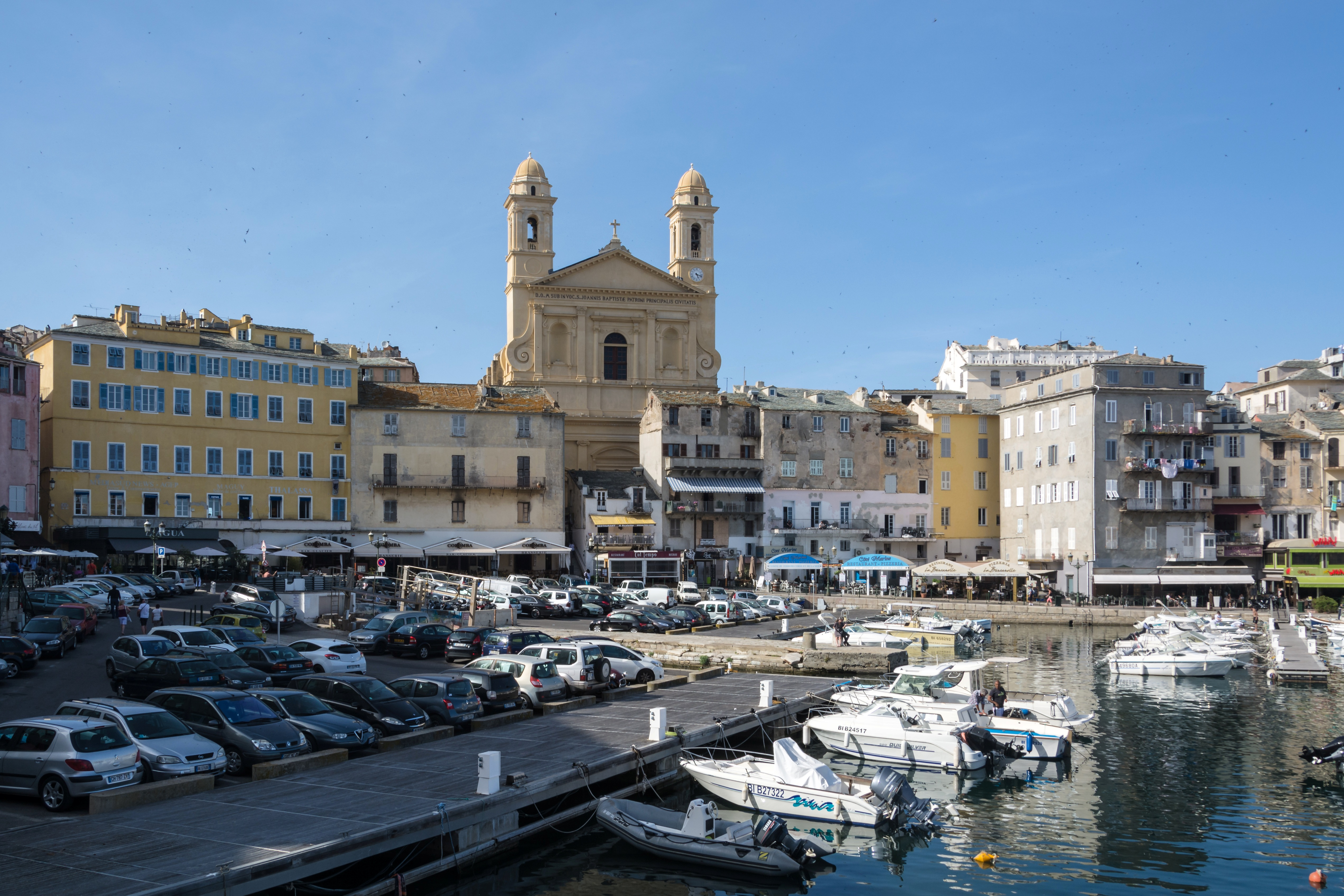 File corsica bastia eglise saint jean baptiste vieux port - Vieux port bastia ...