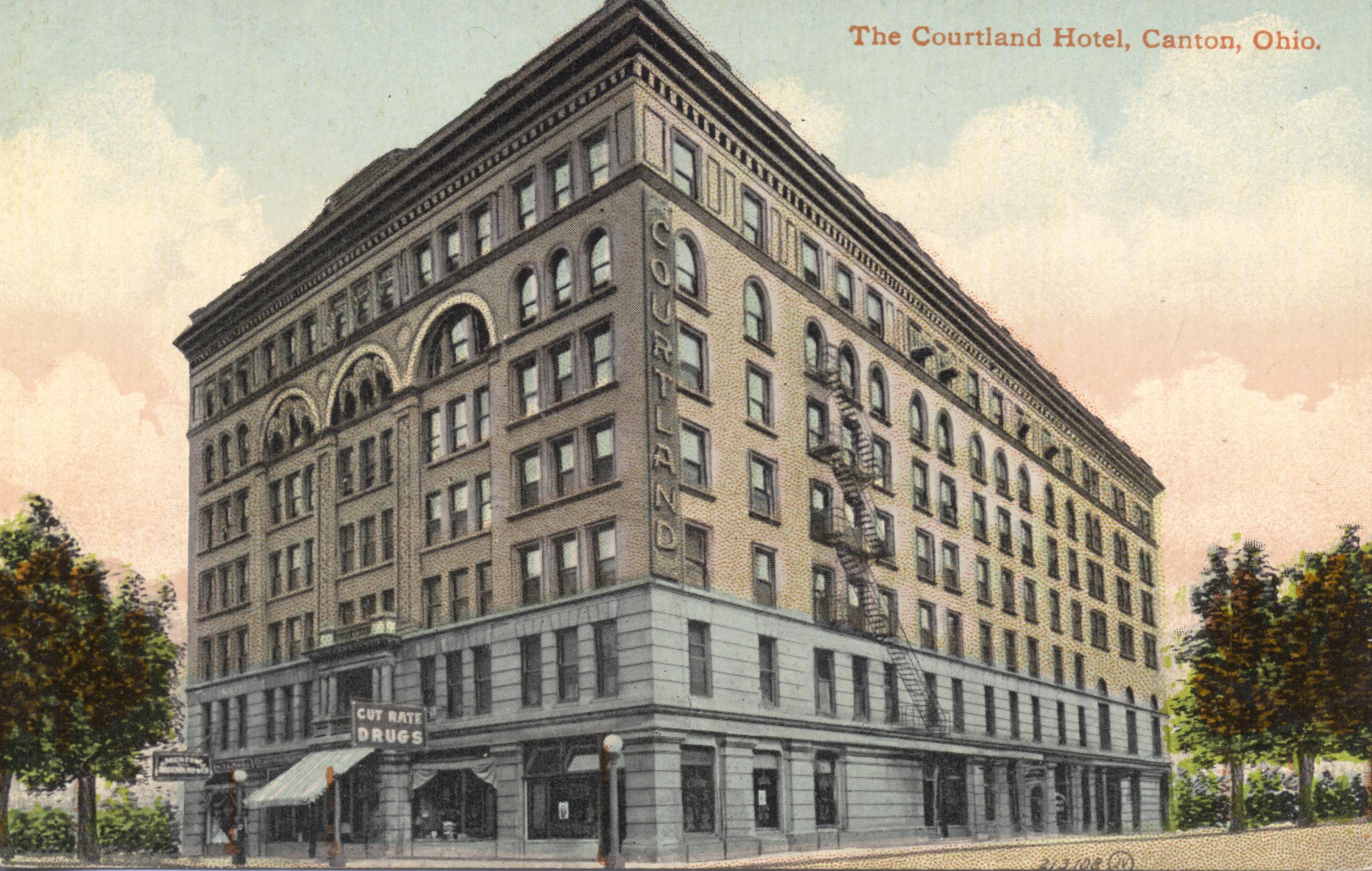 File Courtland Hotel Canton Ohio 13904284010 Jpg Wikimedia