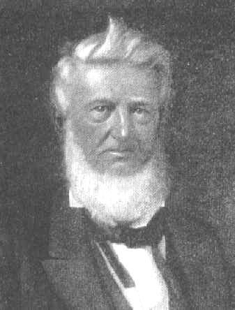 David G. Burnet's empresarial contract was cancelled when he could not bring enough settlers. Burnet later became the interim president of the Republic of Texas. David g burnet.jpg
