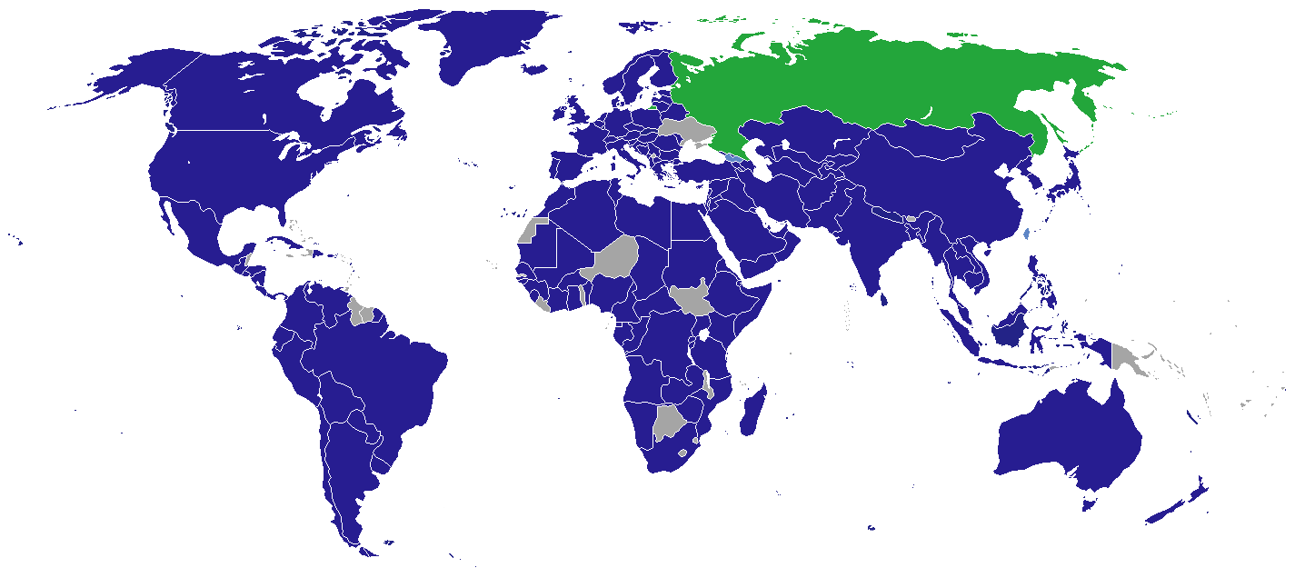 List of diplomatic missions in Russia
