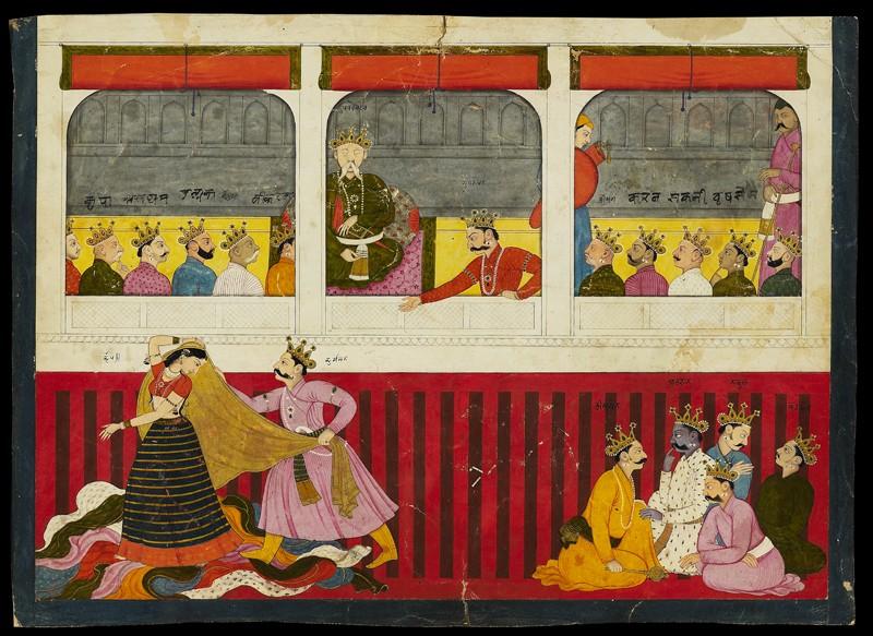 File:Disrobing of Draupadi.jpg - Wikipedia