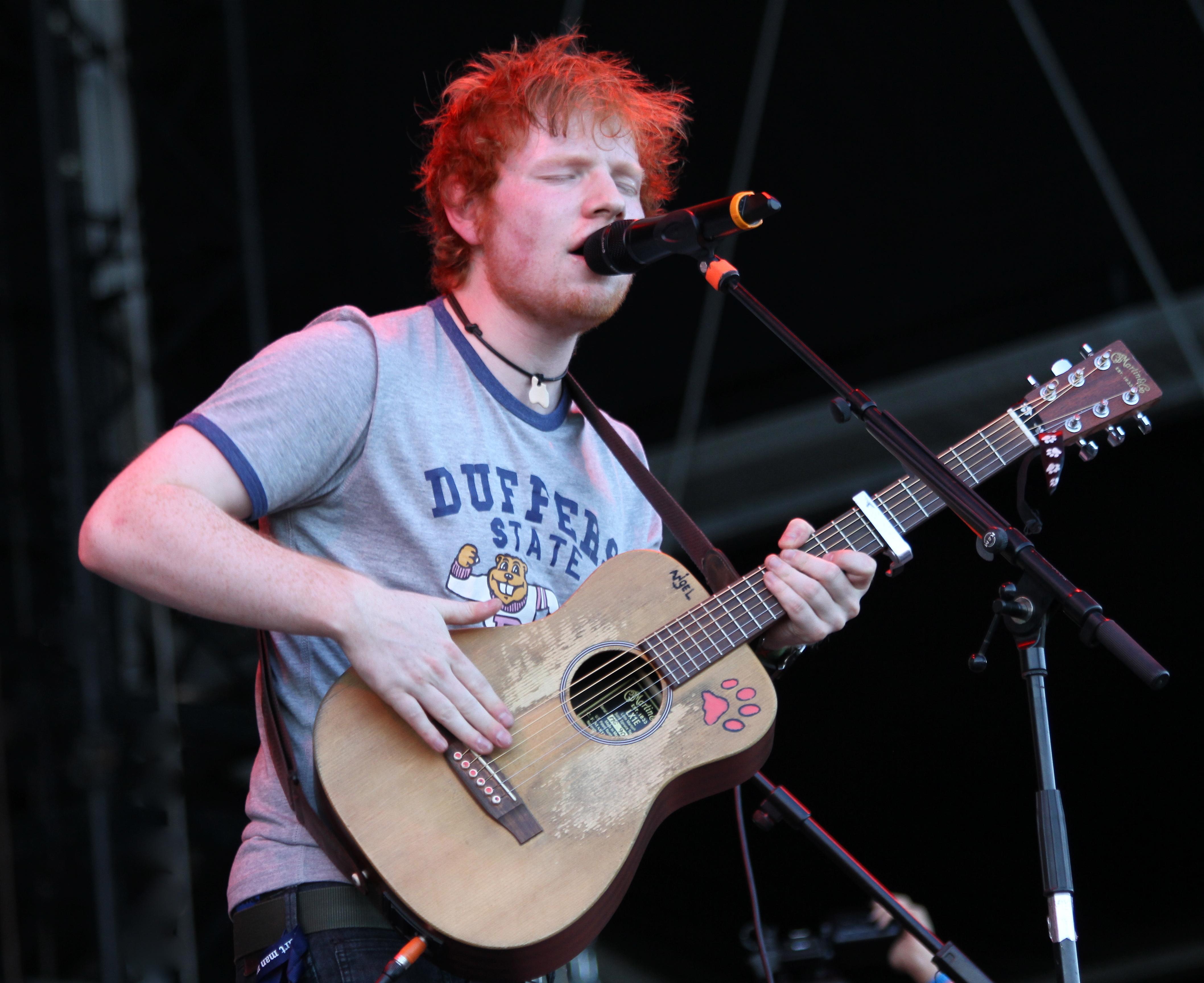 Ed Sheeran World Tour Merchandise