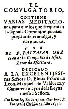 El Comulgatorio - Wikipedia, la enciclopedia libre