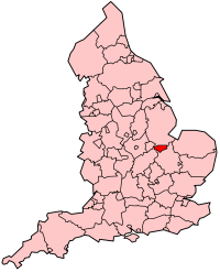 Peterborough is located in the east of England, quite close to the east coast, although cut off from it by Lincolnshire. If a line is drawn from the northern tip of England to the south, Peterborough is located roughly half way down.