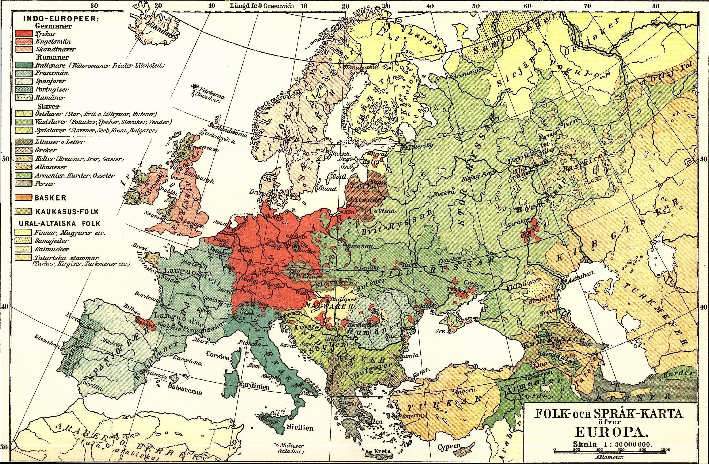 Lenguas de Europa - Wikipedia, la enciclopedia libre