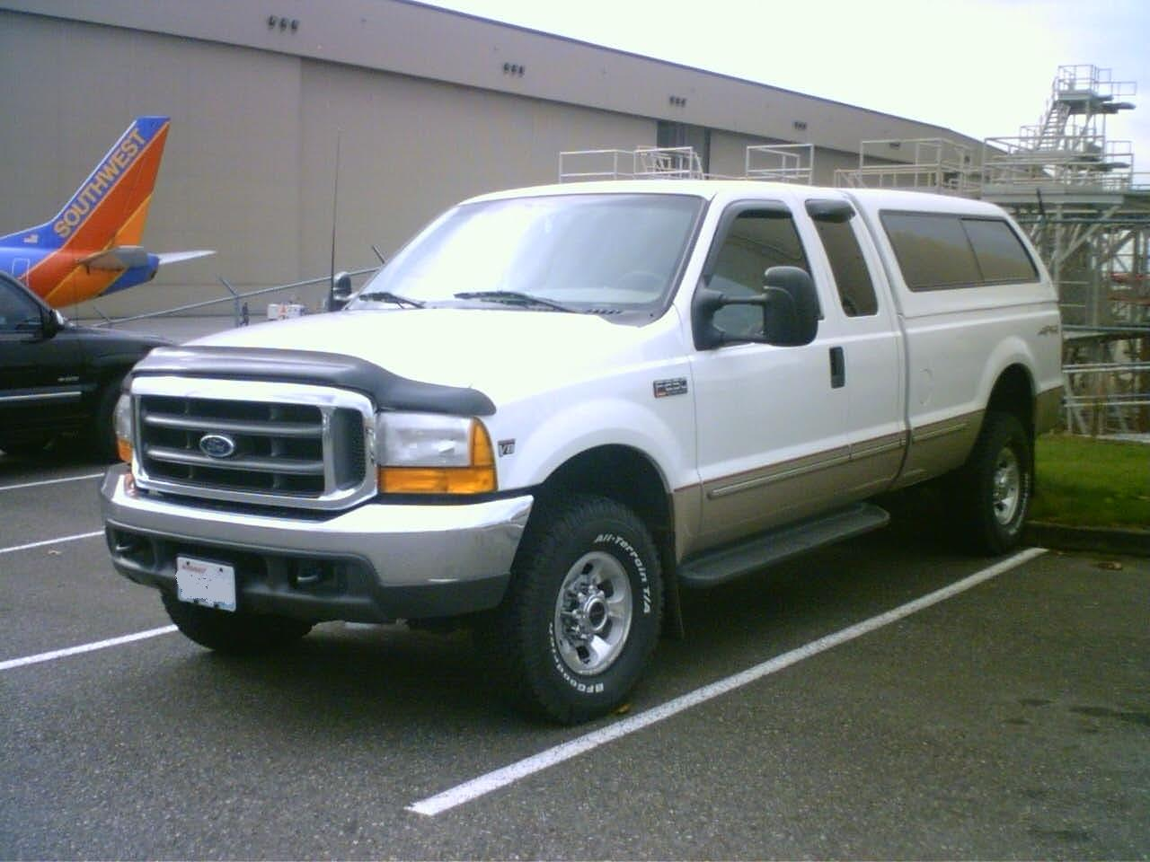 Ford F250 Super Duty - Free Coloring Pages