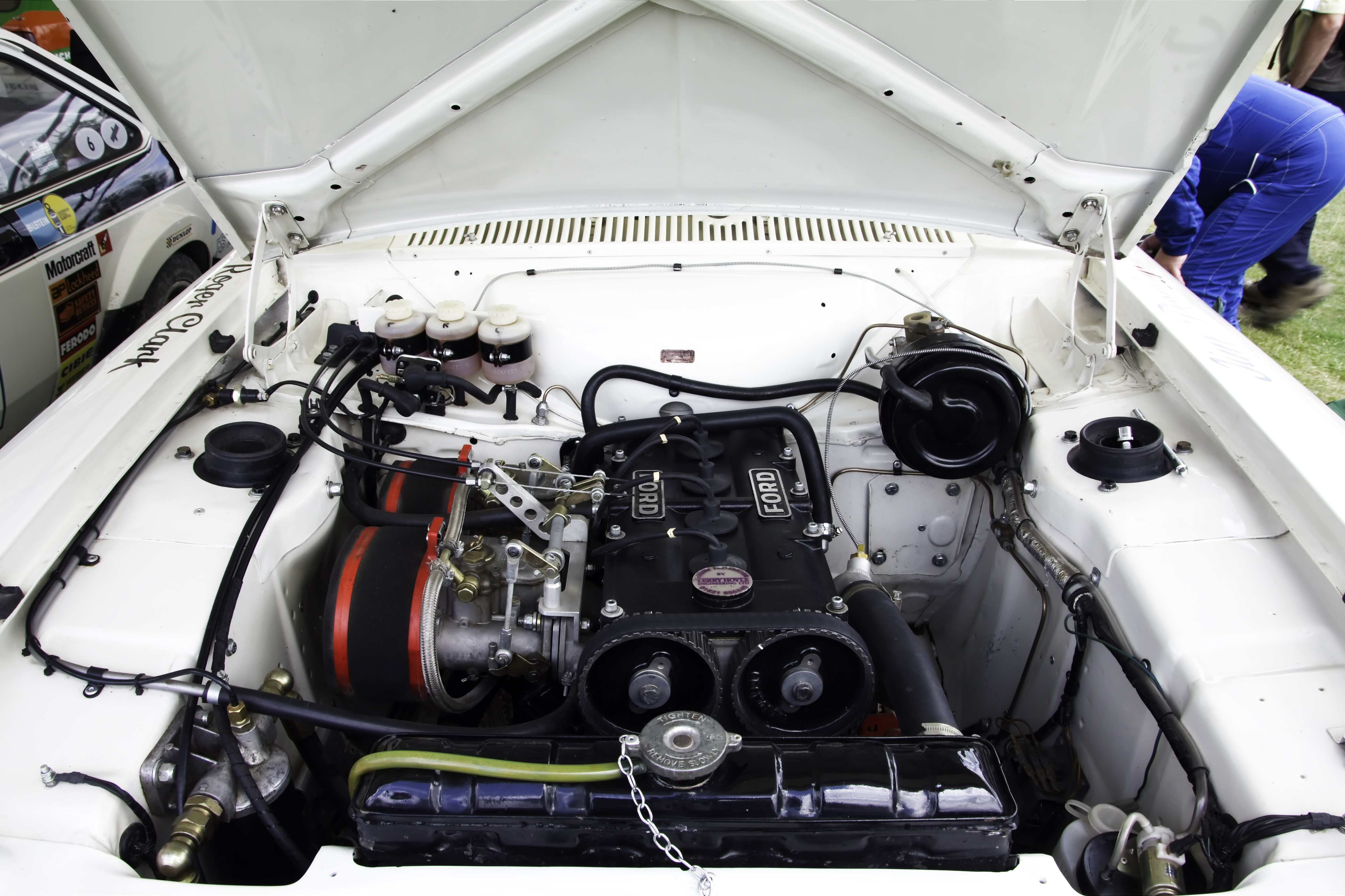 File:Ford BDA Twin cam in an Escort RS1600 - Flickr