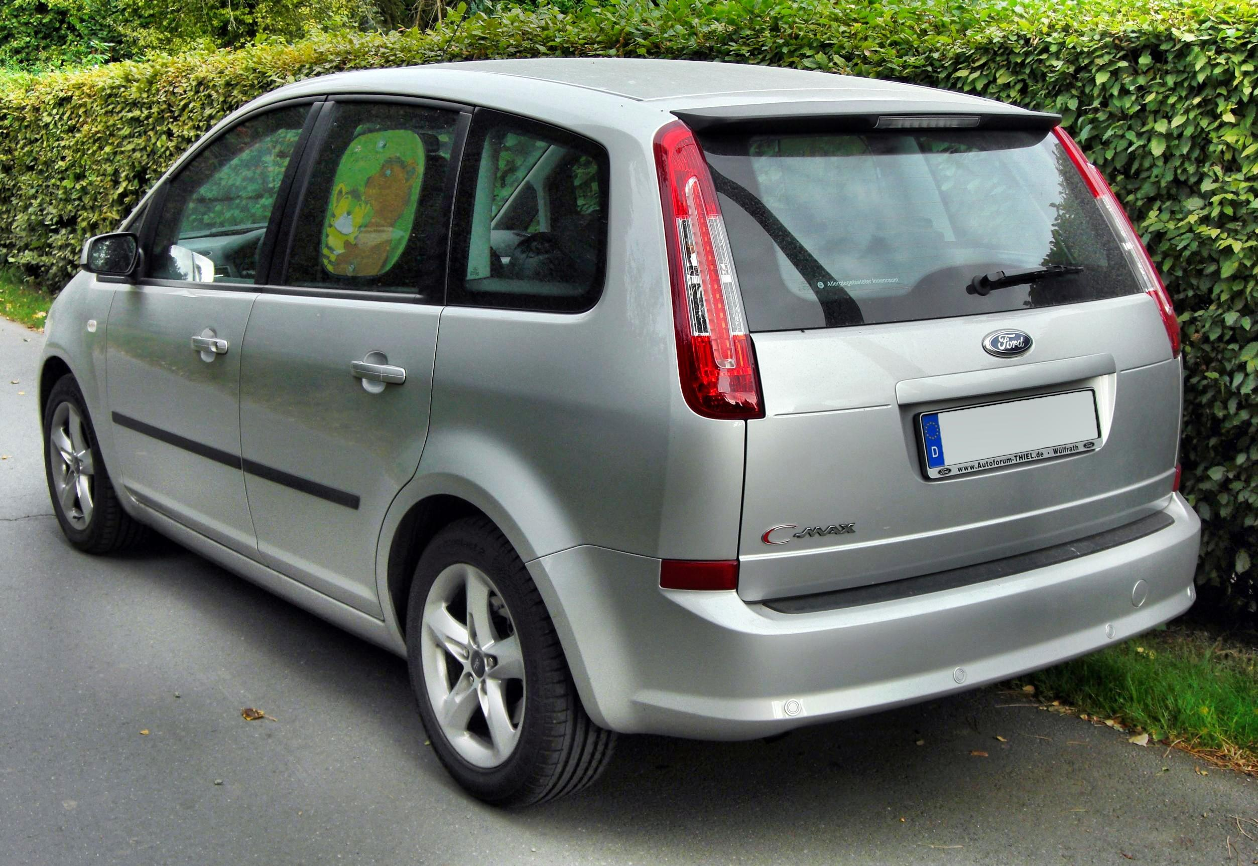 file ford c max facelift 20090912 rear jpg wikimedia commons. Black Bedroom Furniture Sets. Home Design Ideas