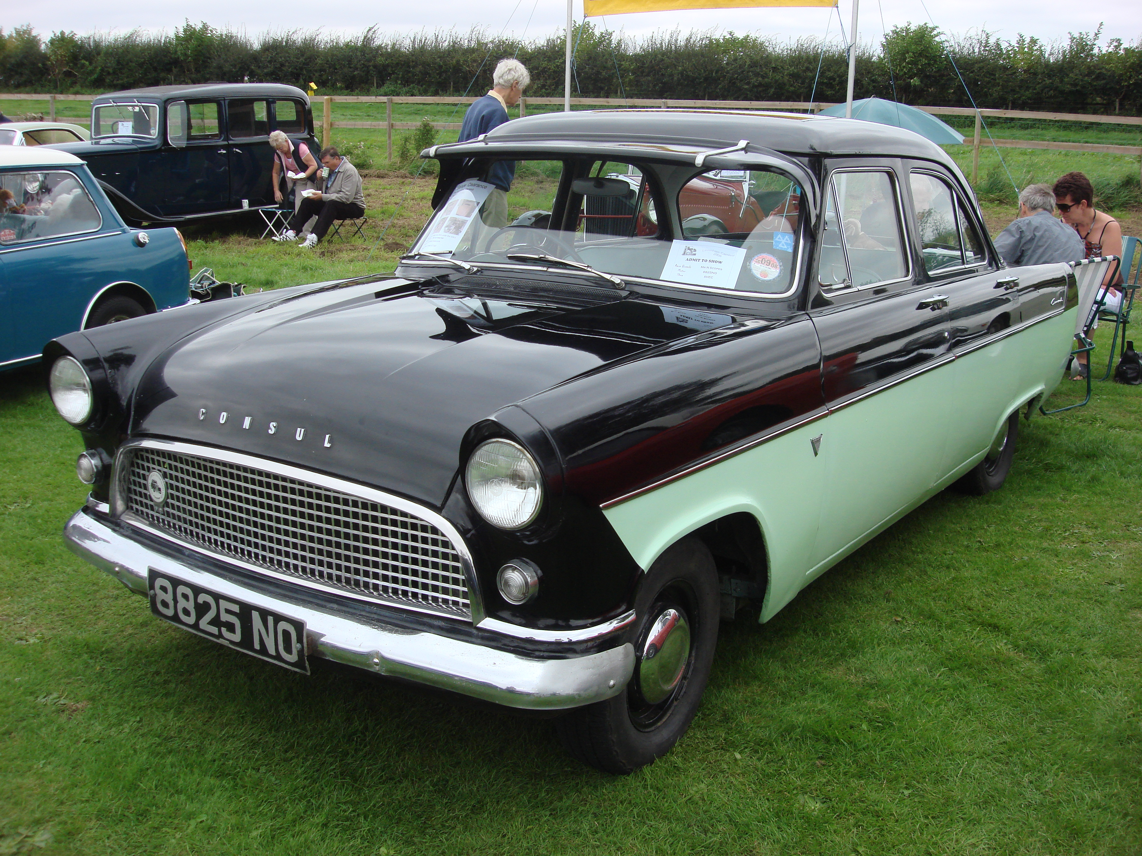 File ford consul wikimedia commons for Consul wikipedia