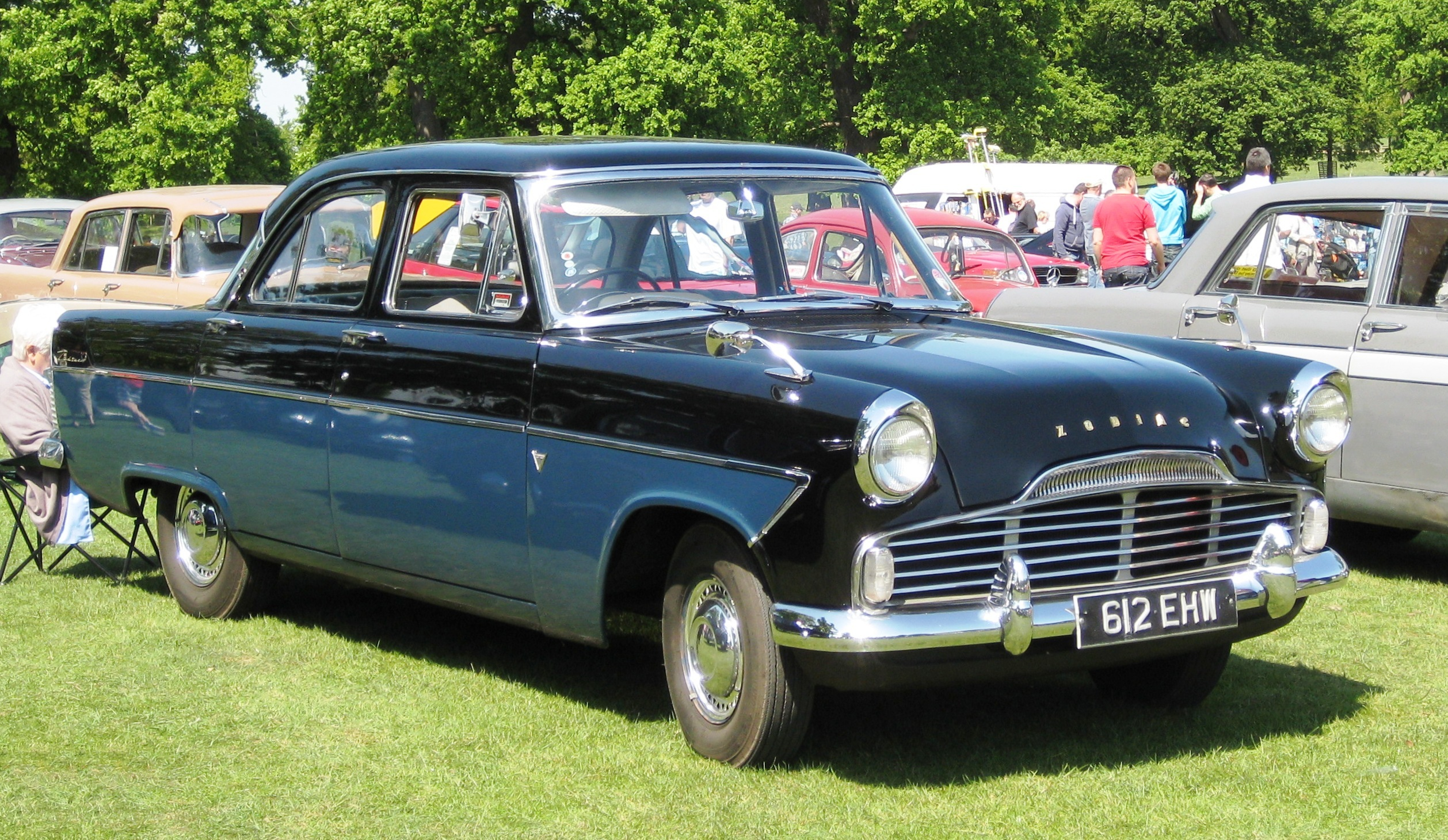 File Ford Zodiac Mk2 first registered England May 1959 2553cc on ford zephyr