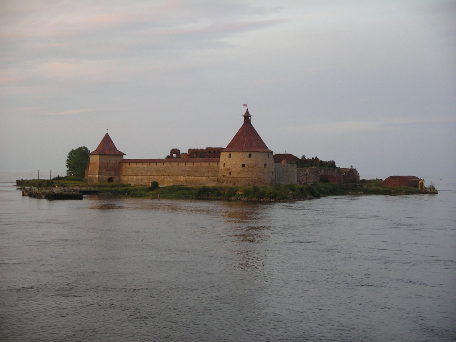 Oreshek Fortress near St. Petersburg