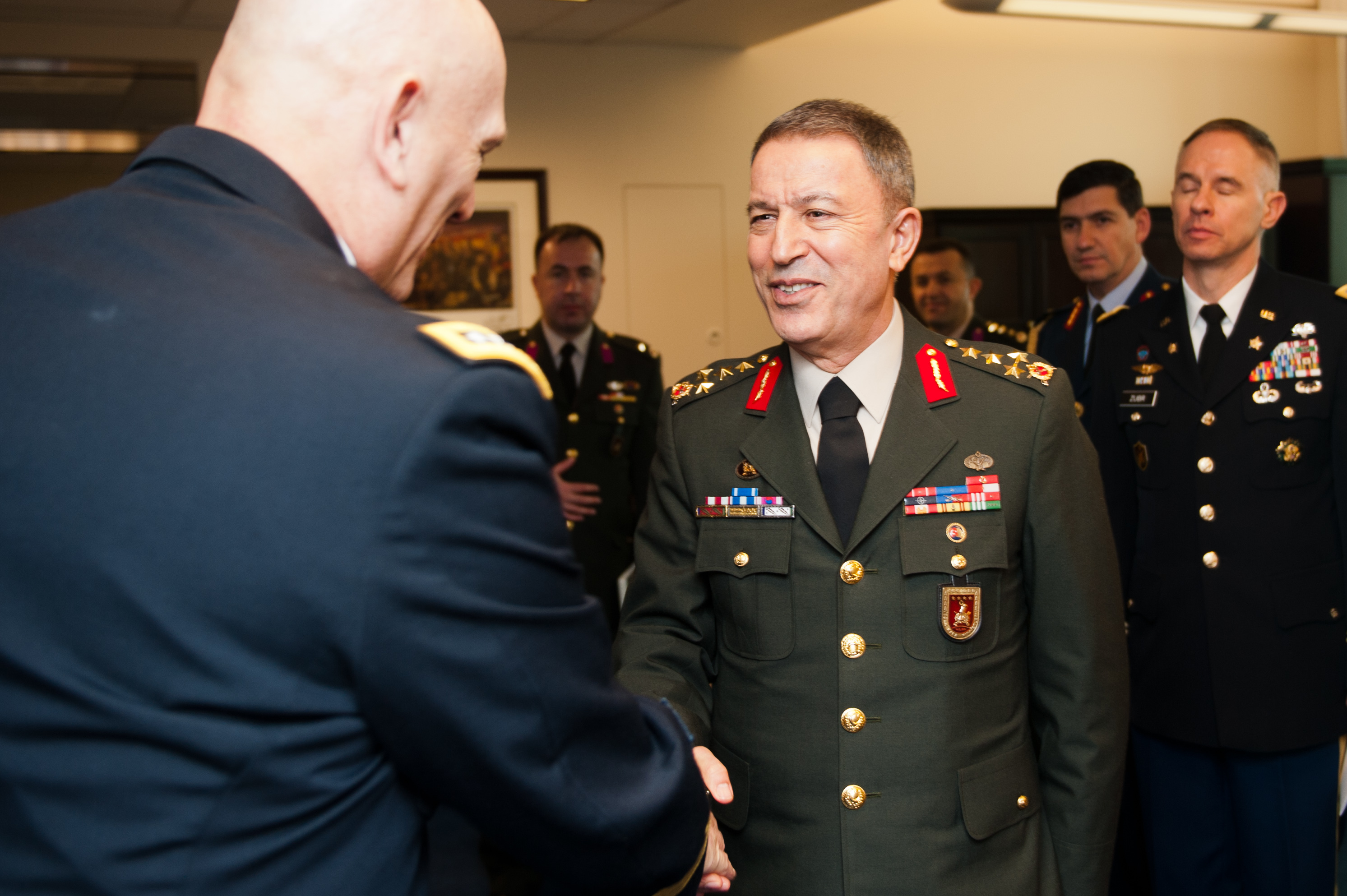 File:Gen. Hulusi Akar, Turkish Land Forces commander ...