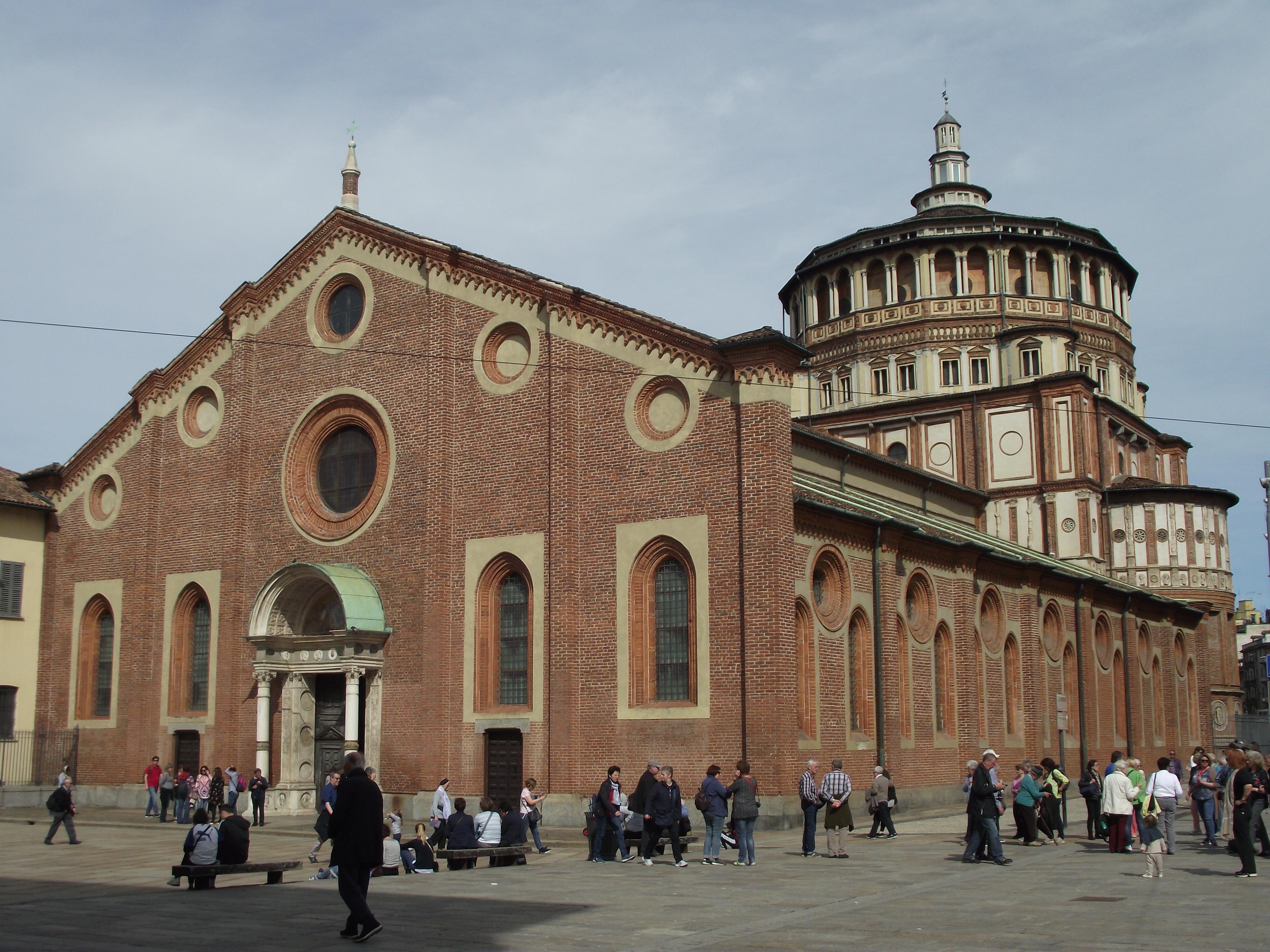 Piazza Del Calendario 3 Milano.Chiesa Di Santa Maria Delle Grazie Milano Wikipedia