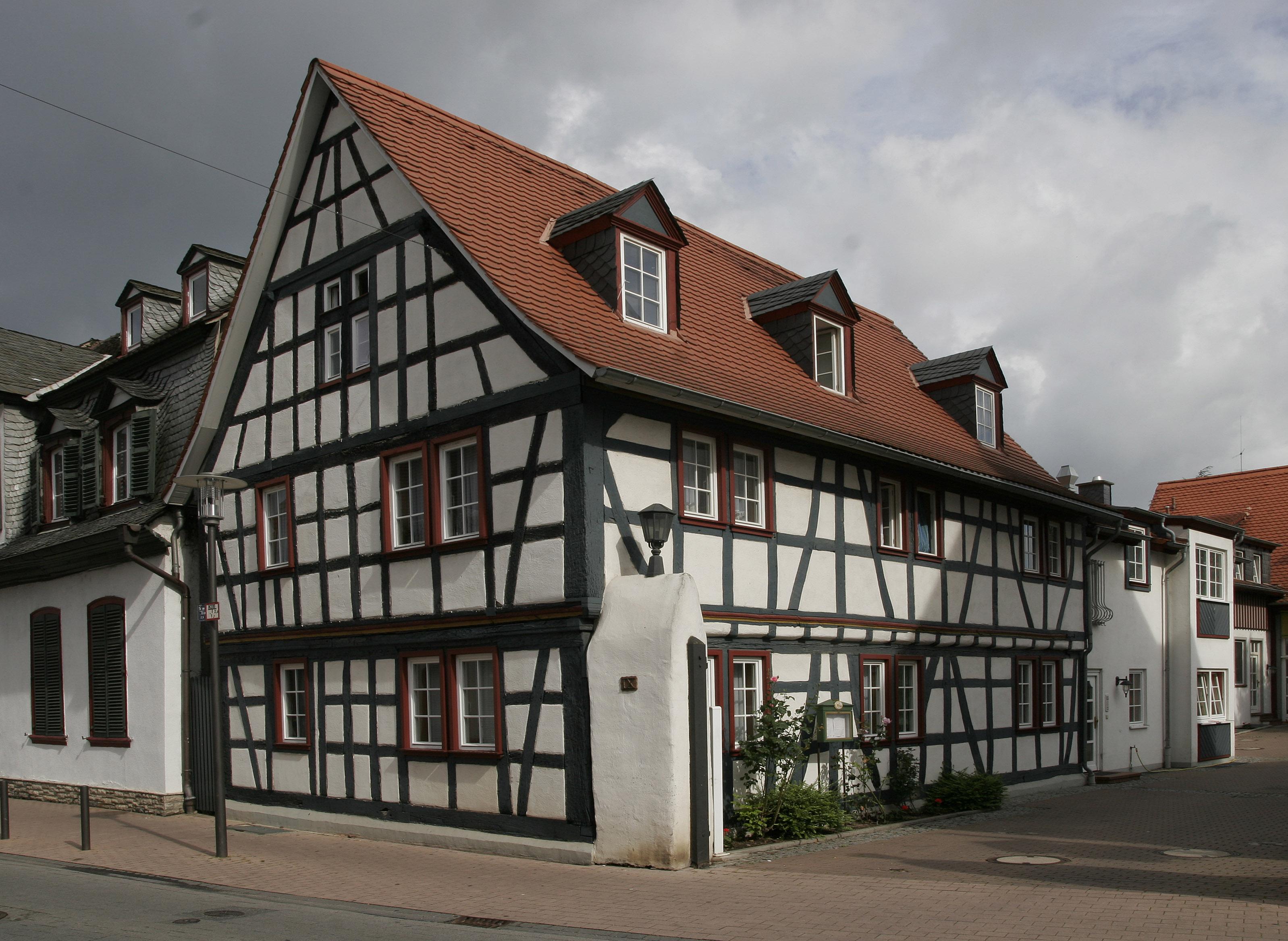 Gross-Gerau Germany  City pictures : Gross Gerau Fachwerk 06 Wikimedia Commons