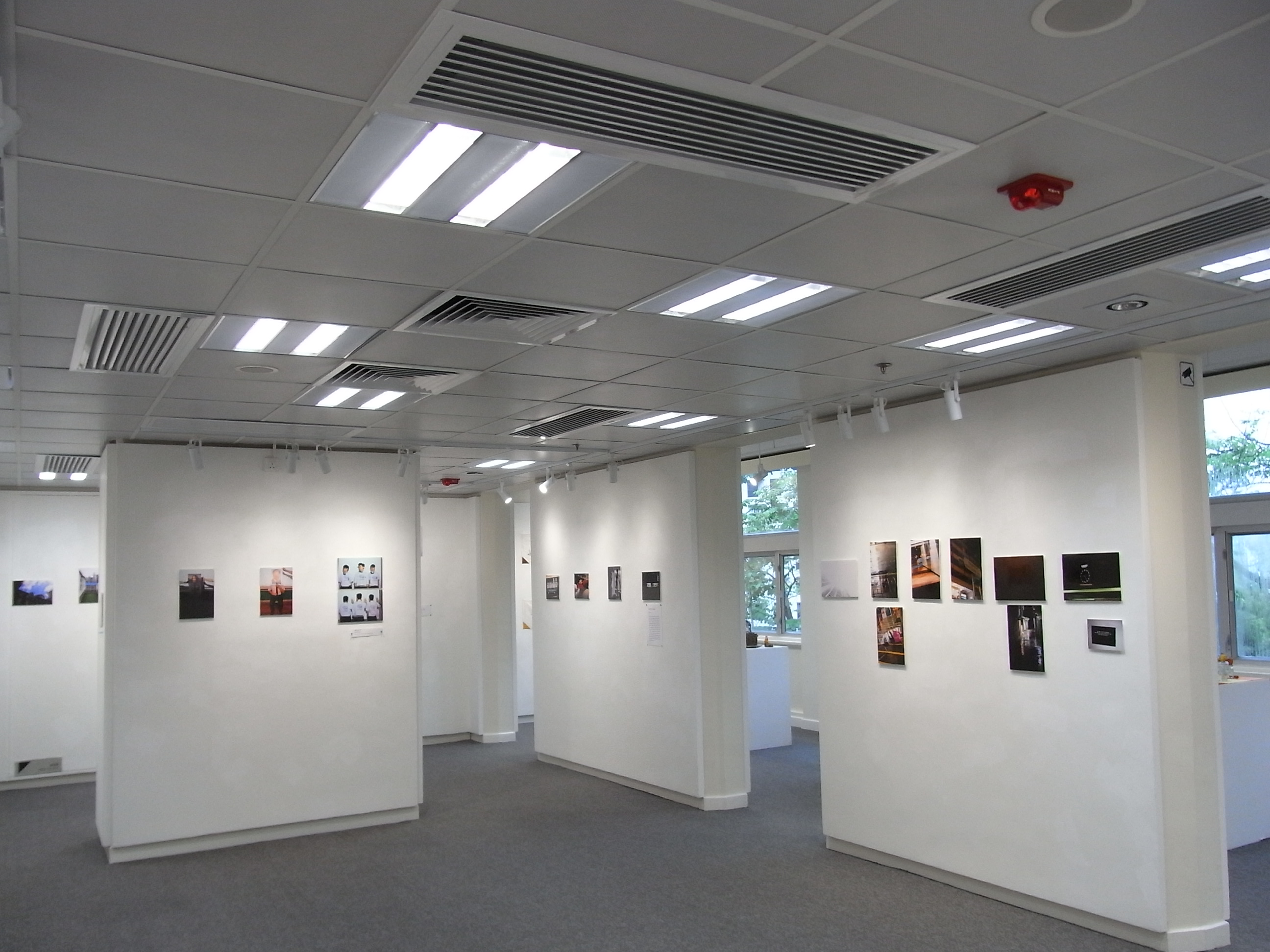 D Max Exhibition Hall : File hk mid levels a kennedy road 香港視覺藝術中心 hong kong