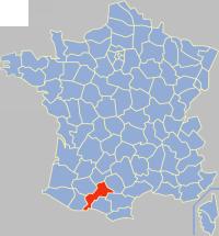 Communes of the Haute-Garonne department Wikimedia list article