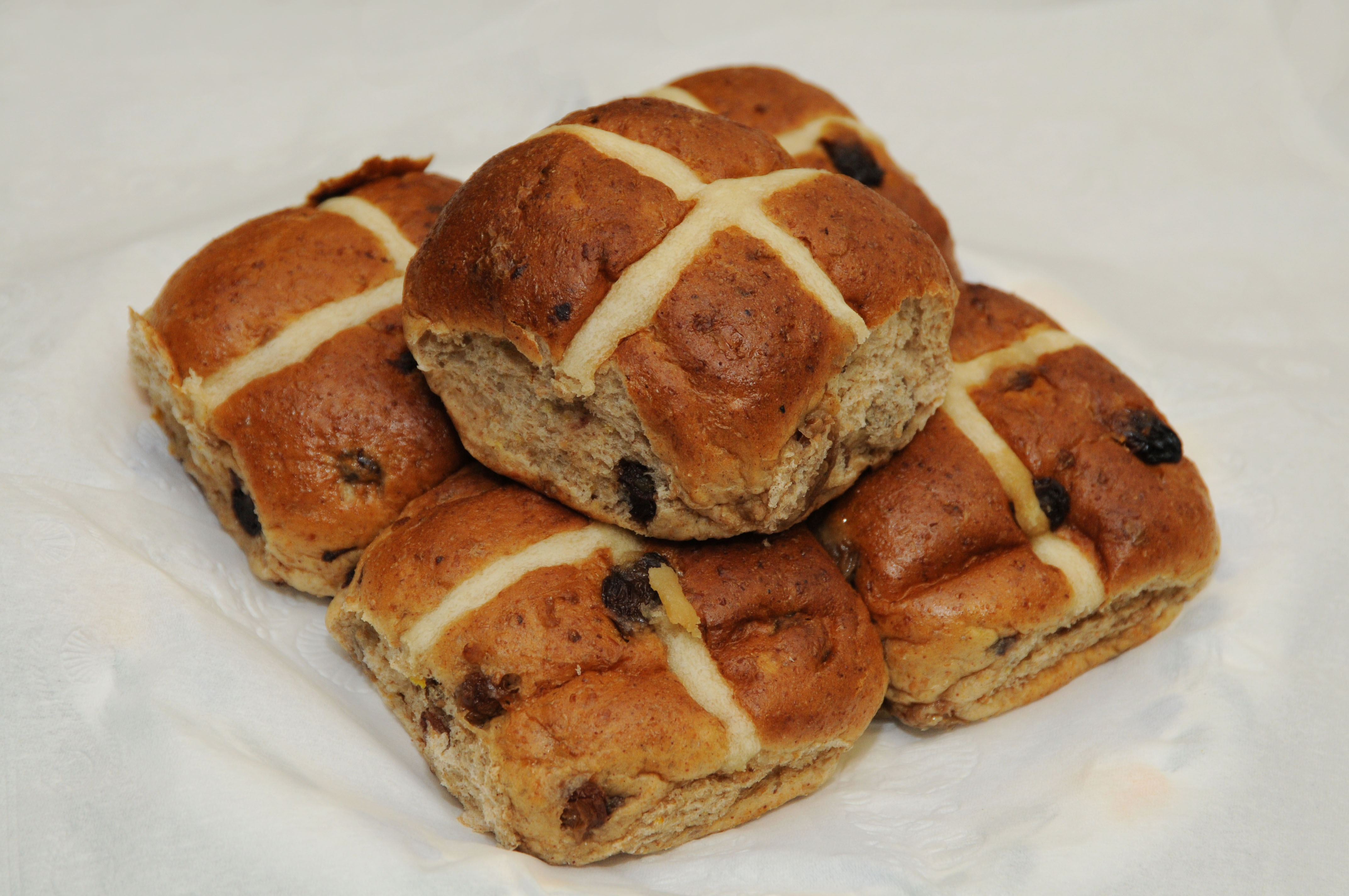 Happy Easter from London! - Hot cross buns