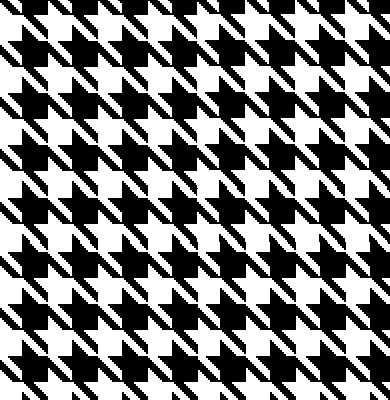 Houndstooth Car Seat Covers