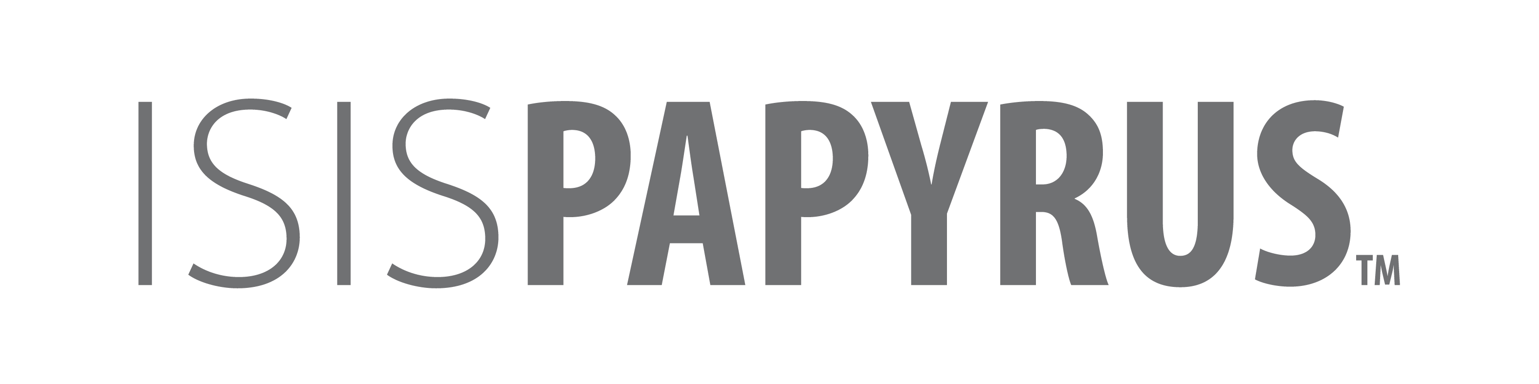 File Isispapyrus Text Logo Jpg Wikimedia Commons
