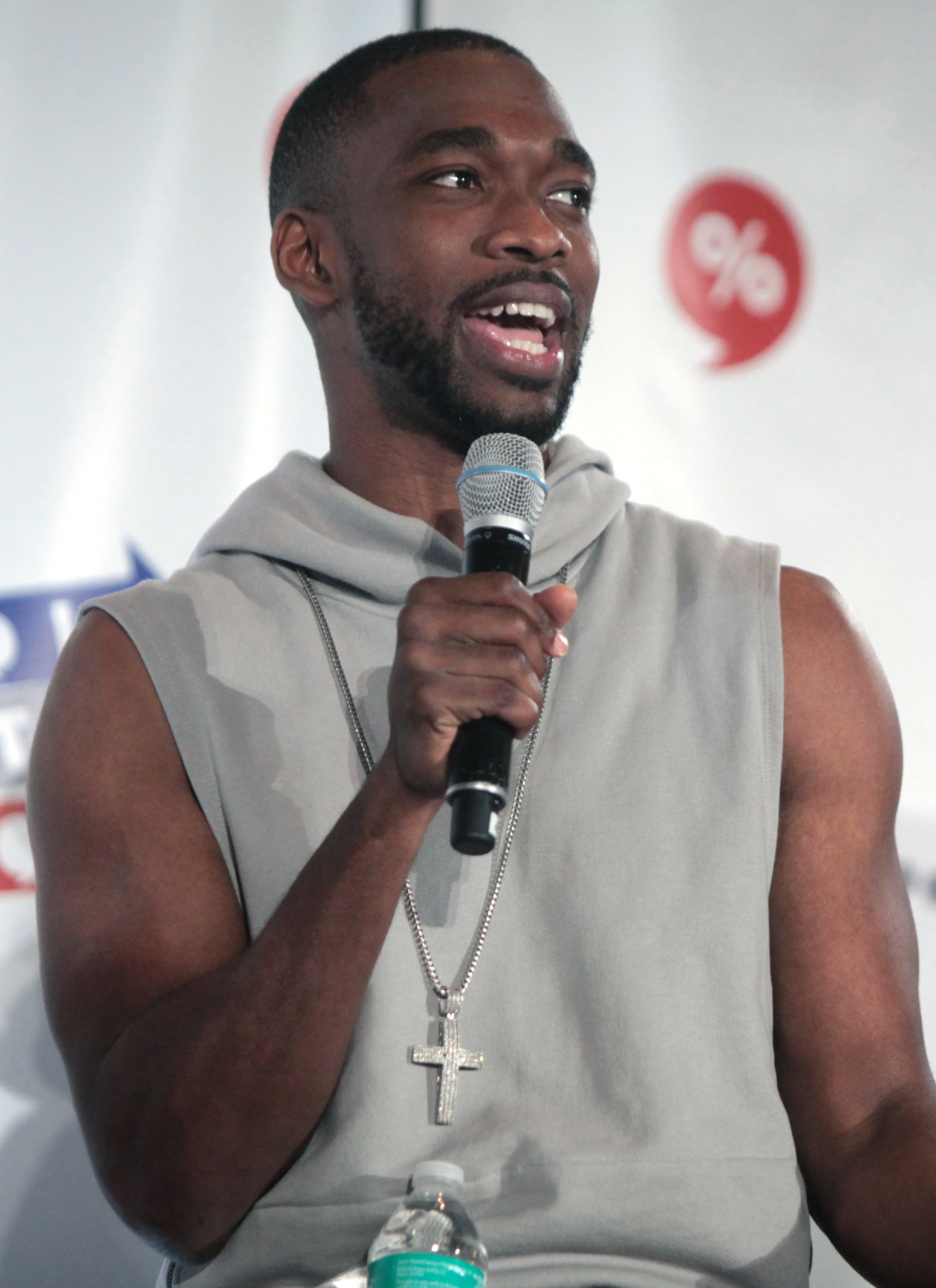 The 30-year old son of father (?) and mother(?) Jay Pharoah in 2018 photo. Jay Pharoah earned a  million dollar salary - leaving the net worth at 1.5 million in 2018