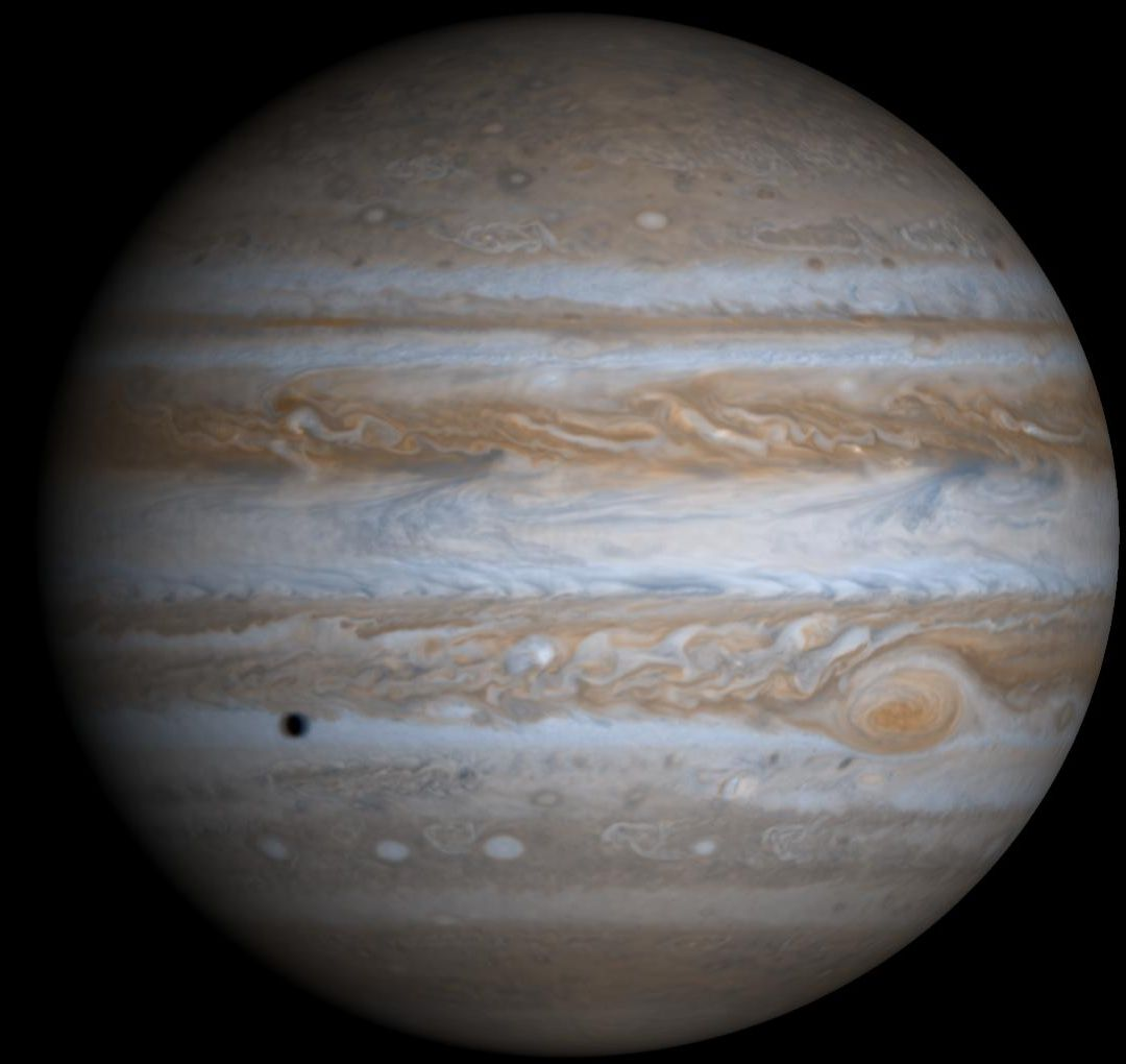 Jupiter by Cassini Hyugens