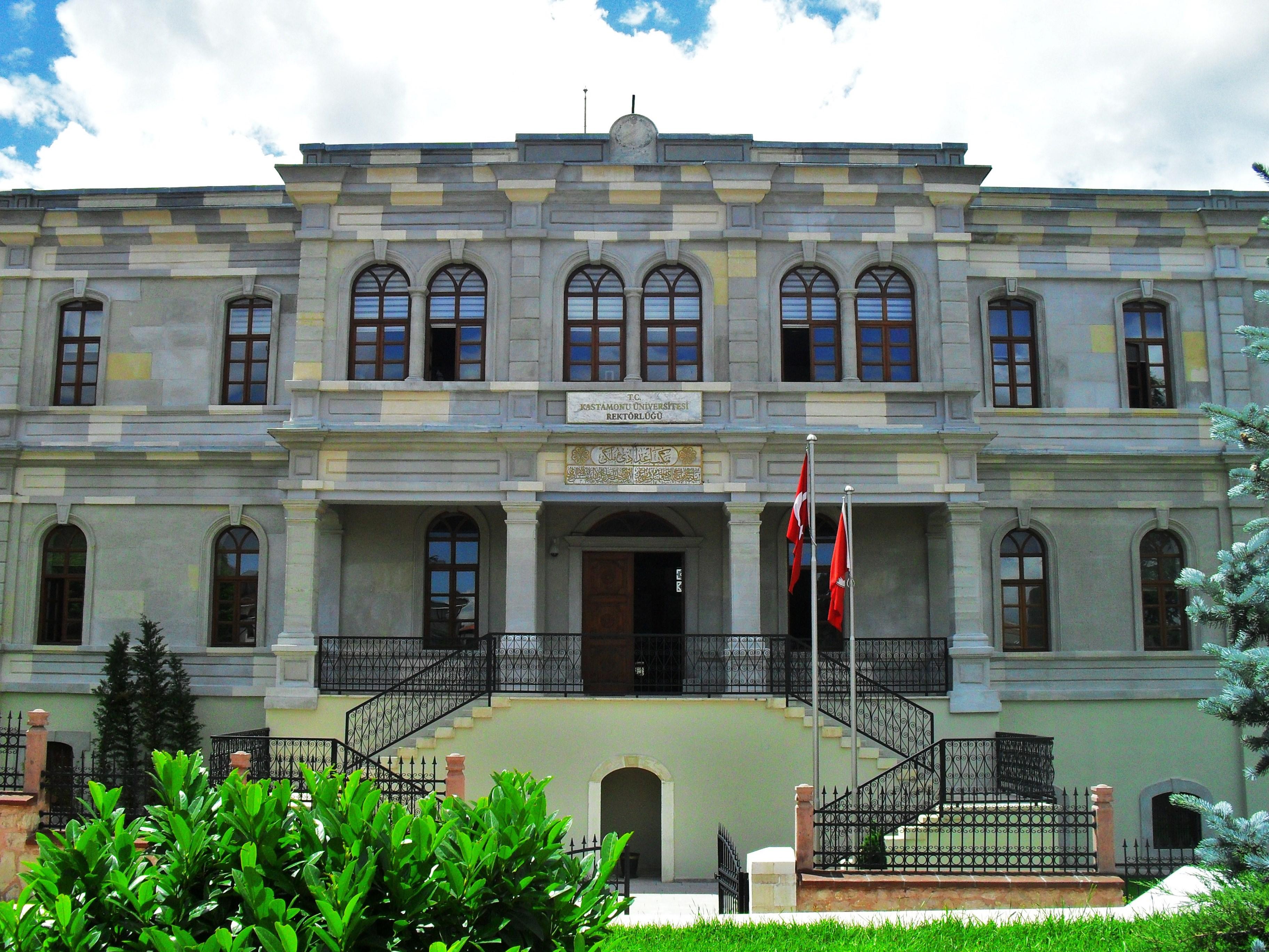 File:Kastamonu Üniversitesi Rektörlüğü.JPG - Wikimedia Commons