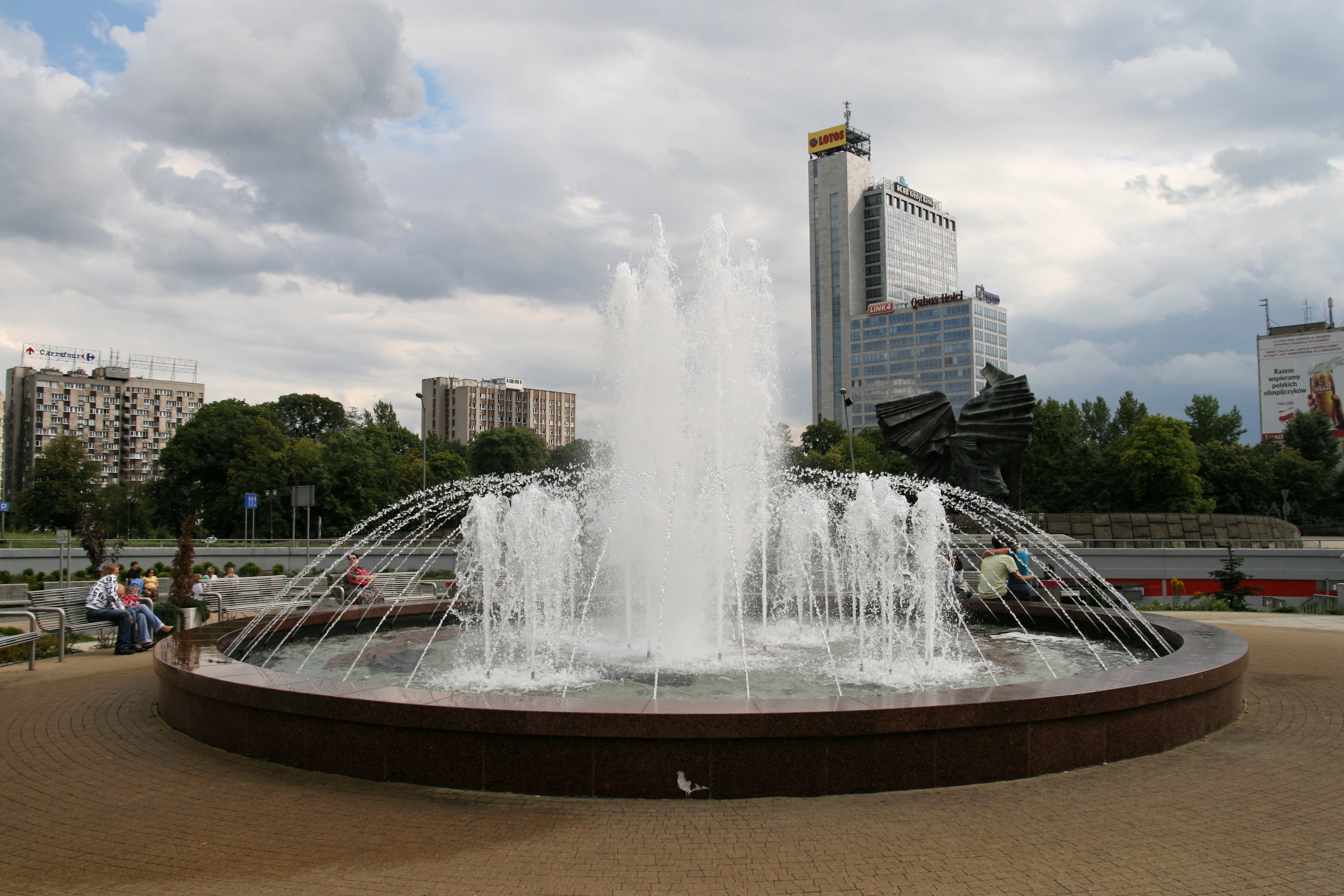 Katowice - Rondo - Fontanna 01.jpg