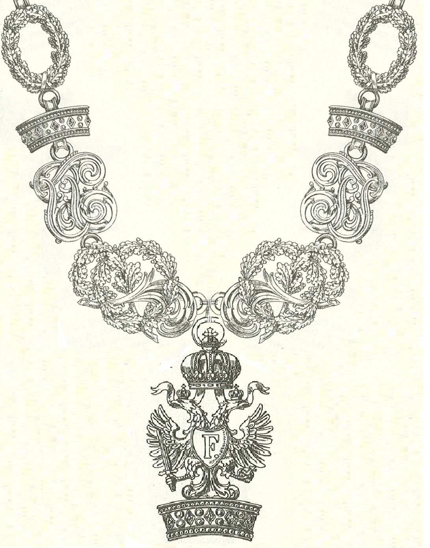 Orden imperial de la Corona de Hierro - Wikipedia, la ...