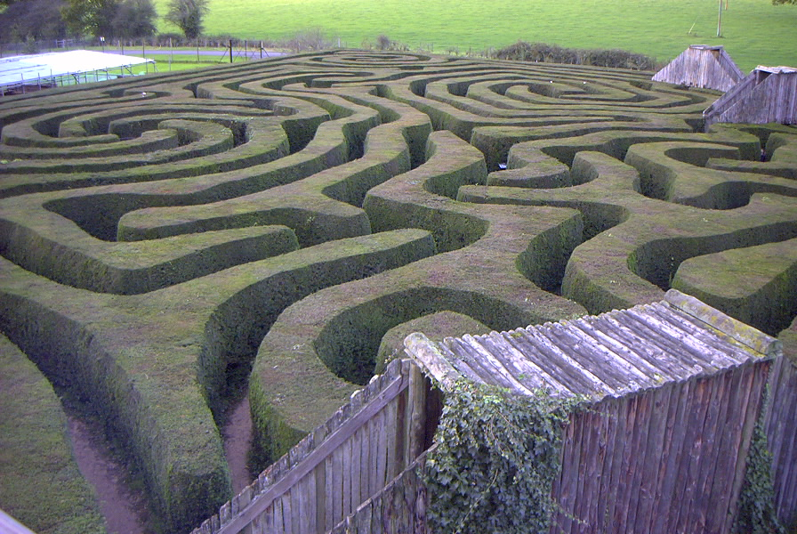 ....through the maze...