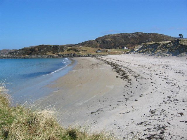 File:Looking North up Camusdarach Beach - geograph.org.uk - 68305.jpg
