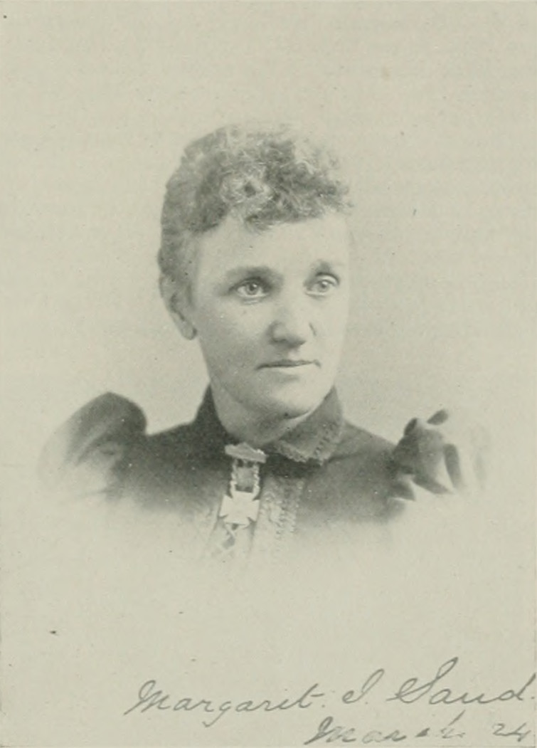 MARGARET ISABBELLE SANDES A woman of the century (page 641 crop).jpg