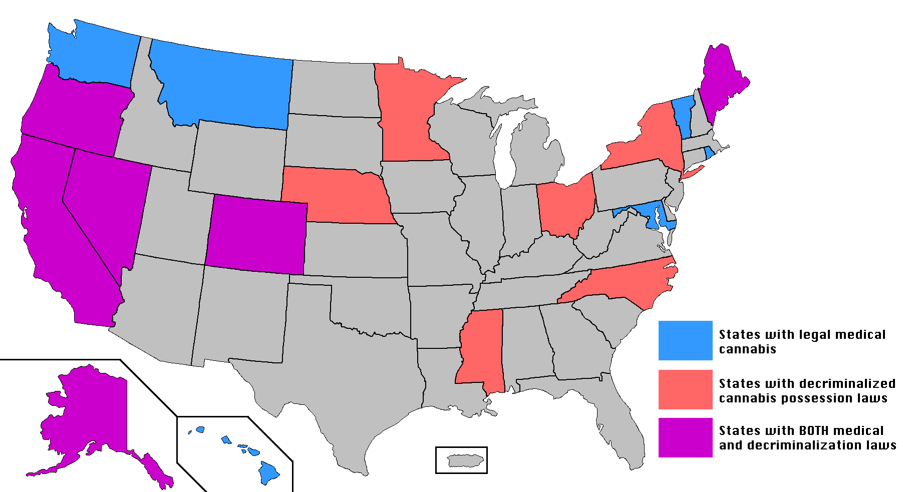 Overview of U.S. Medical Marijuana Law